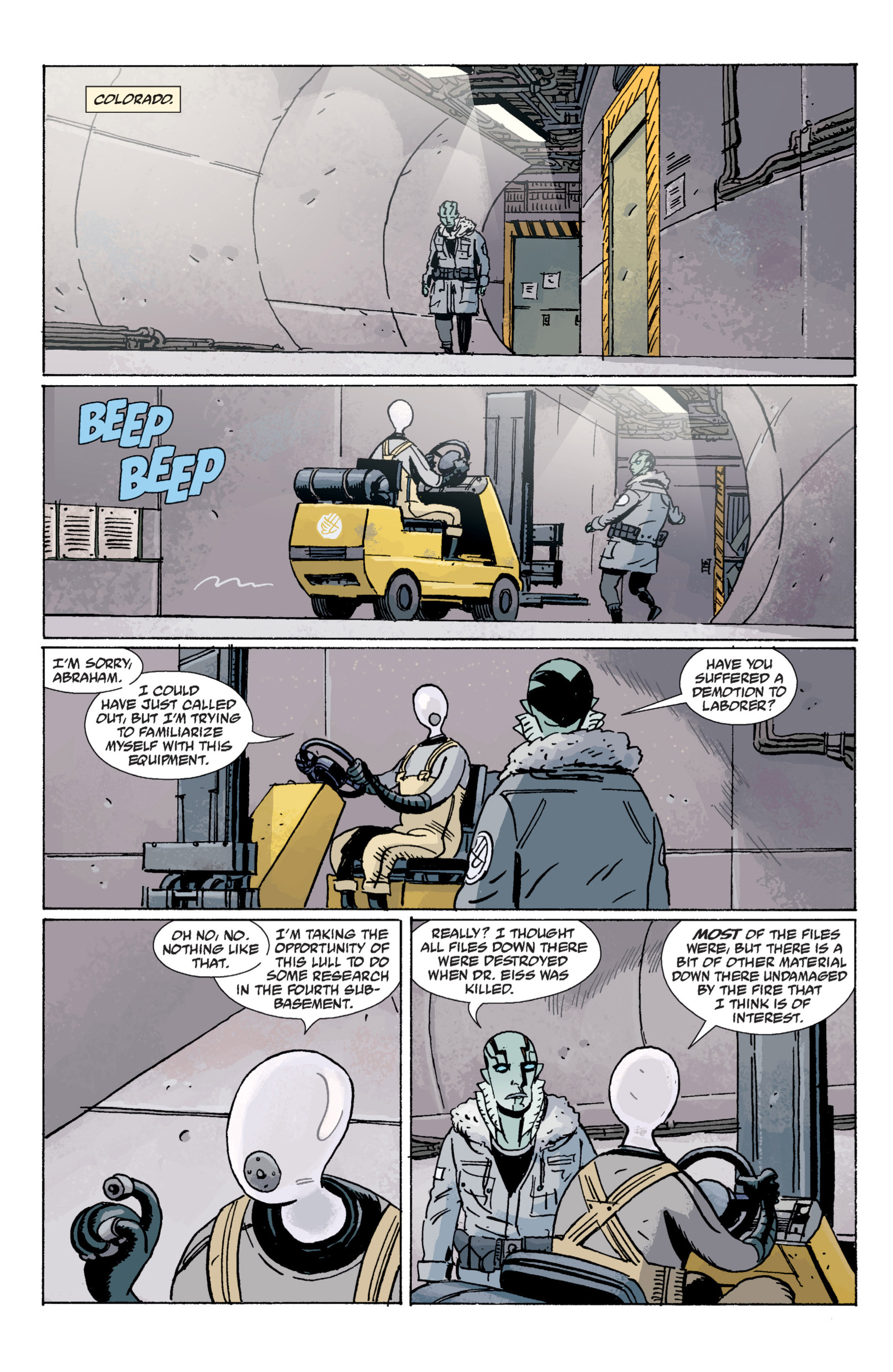 Read online B.P.R.D. (2003) comic -  Issue # TPB 7 - 27