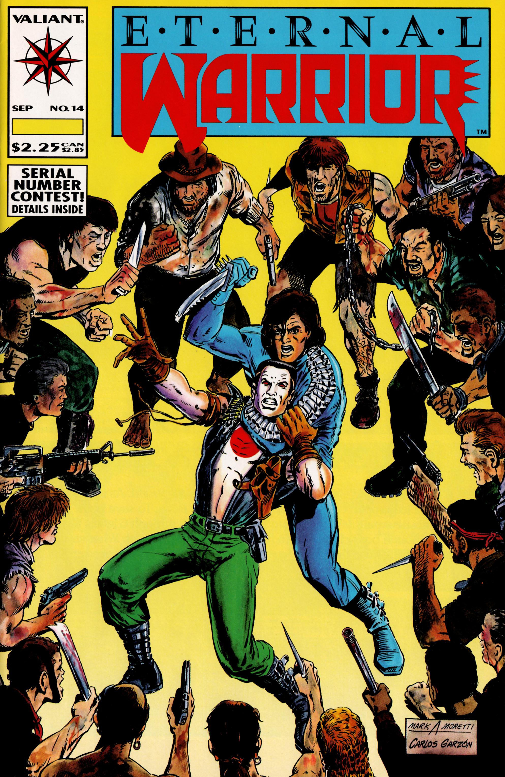 Read online Eternal Warrior (1992) comic -  Issue #14 - 1