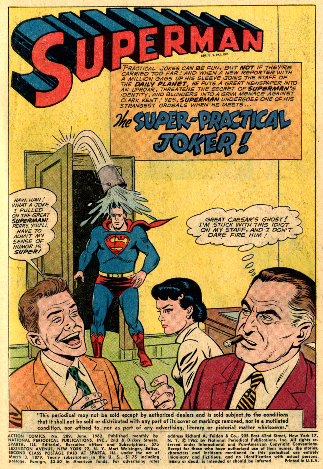 Read online Action Comics (1938) comic -  Issue #289 - 3