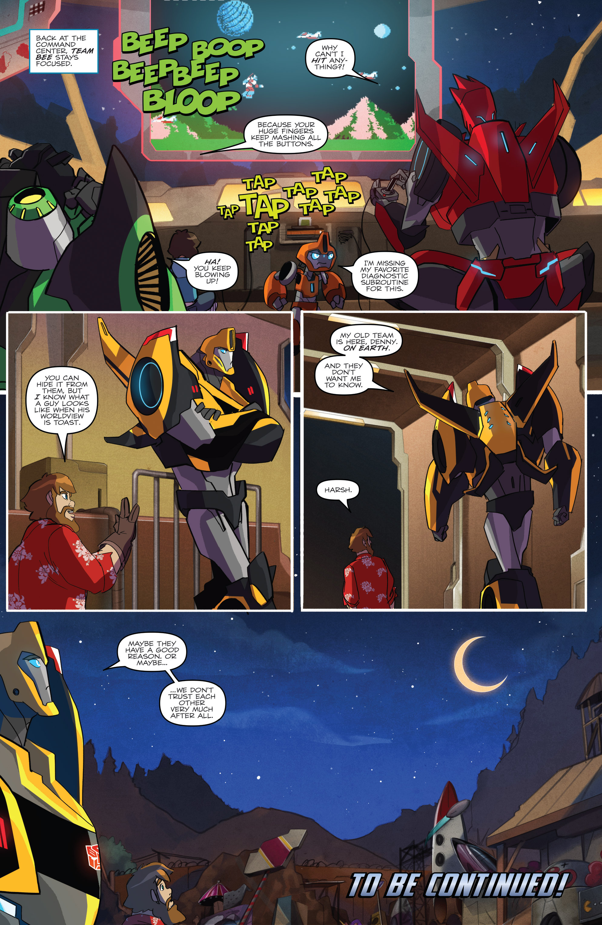 Read online Transformers: Robots In Disguise (2015) comic -  Issue #1 - 22