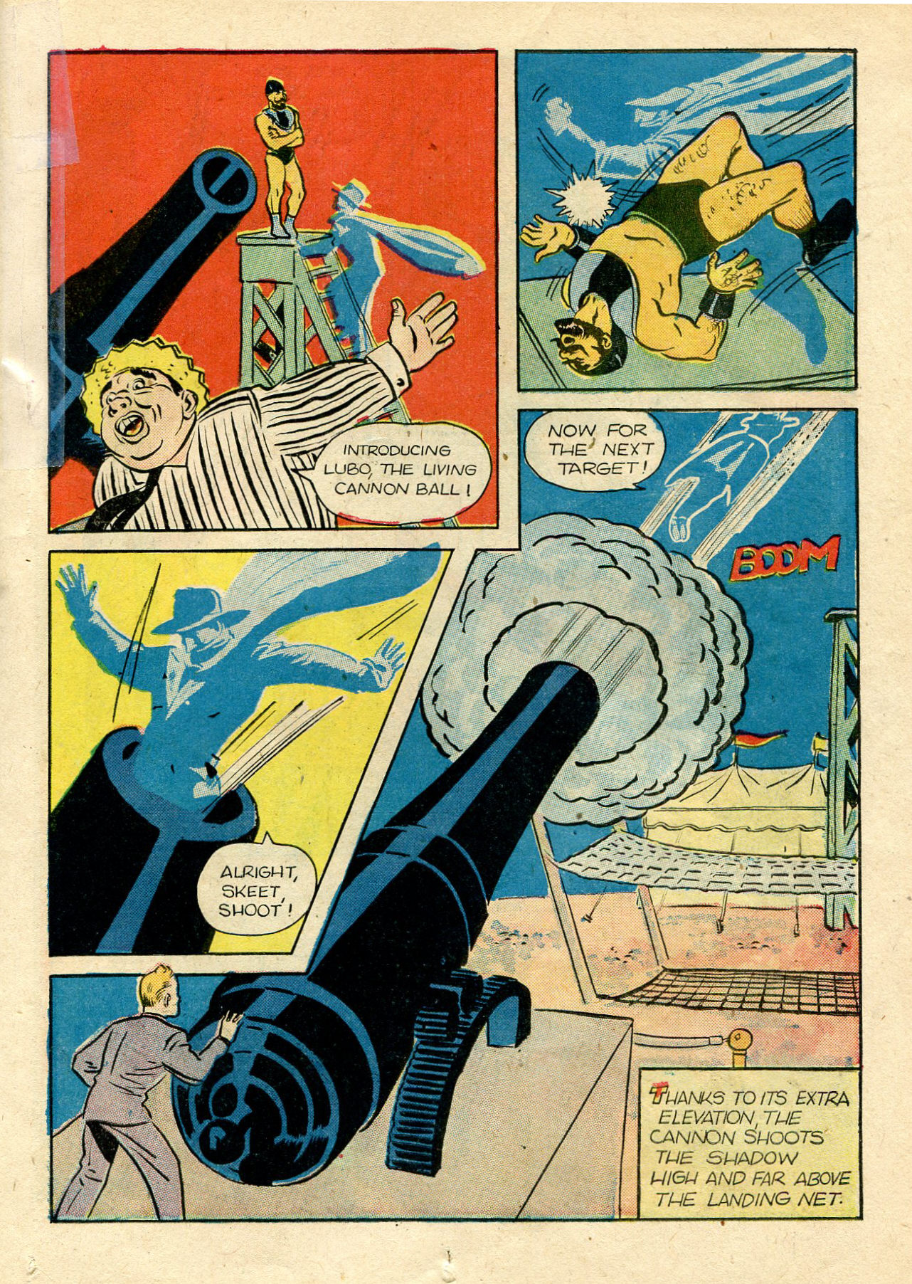 Read online Shadow Comics comic -  Issue #33 - 27