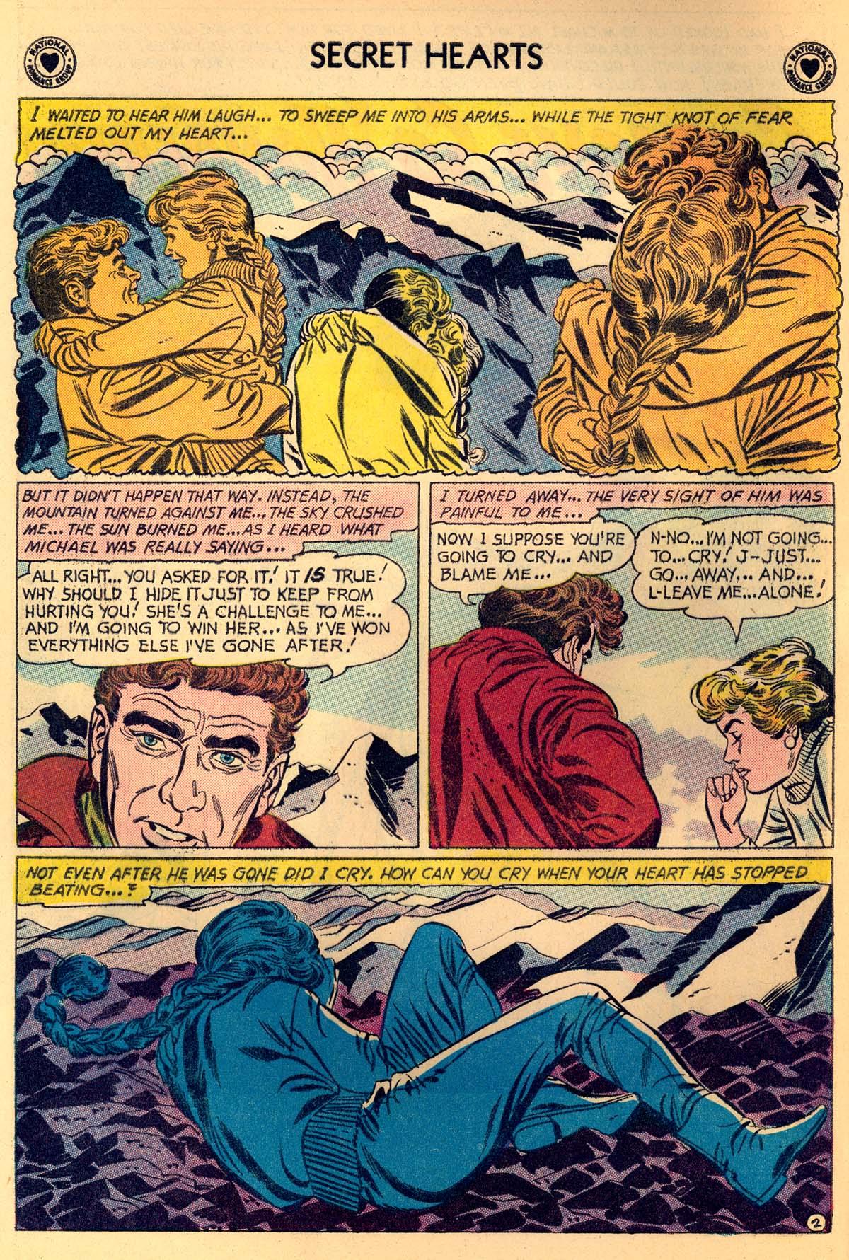 Read online Secret Hearts comic -  Issue #66 - 4