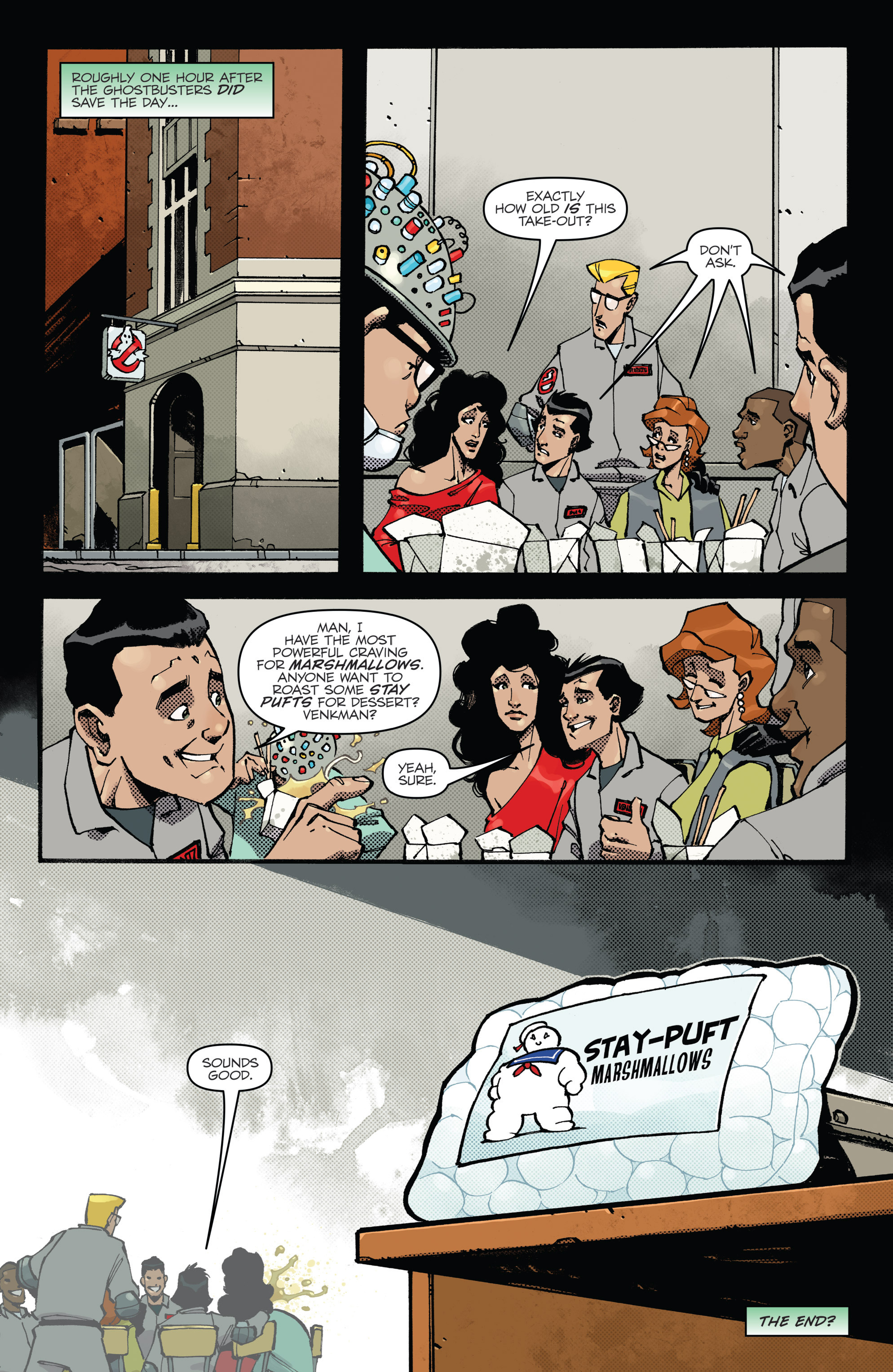 Read online Ghostbusters: Deviations comic -  Issue #1 - 26