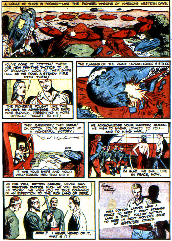 Read online Adventure Comics (1938) comic -  Issue #45 - 65