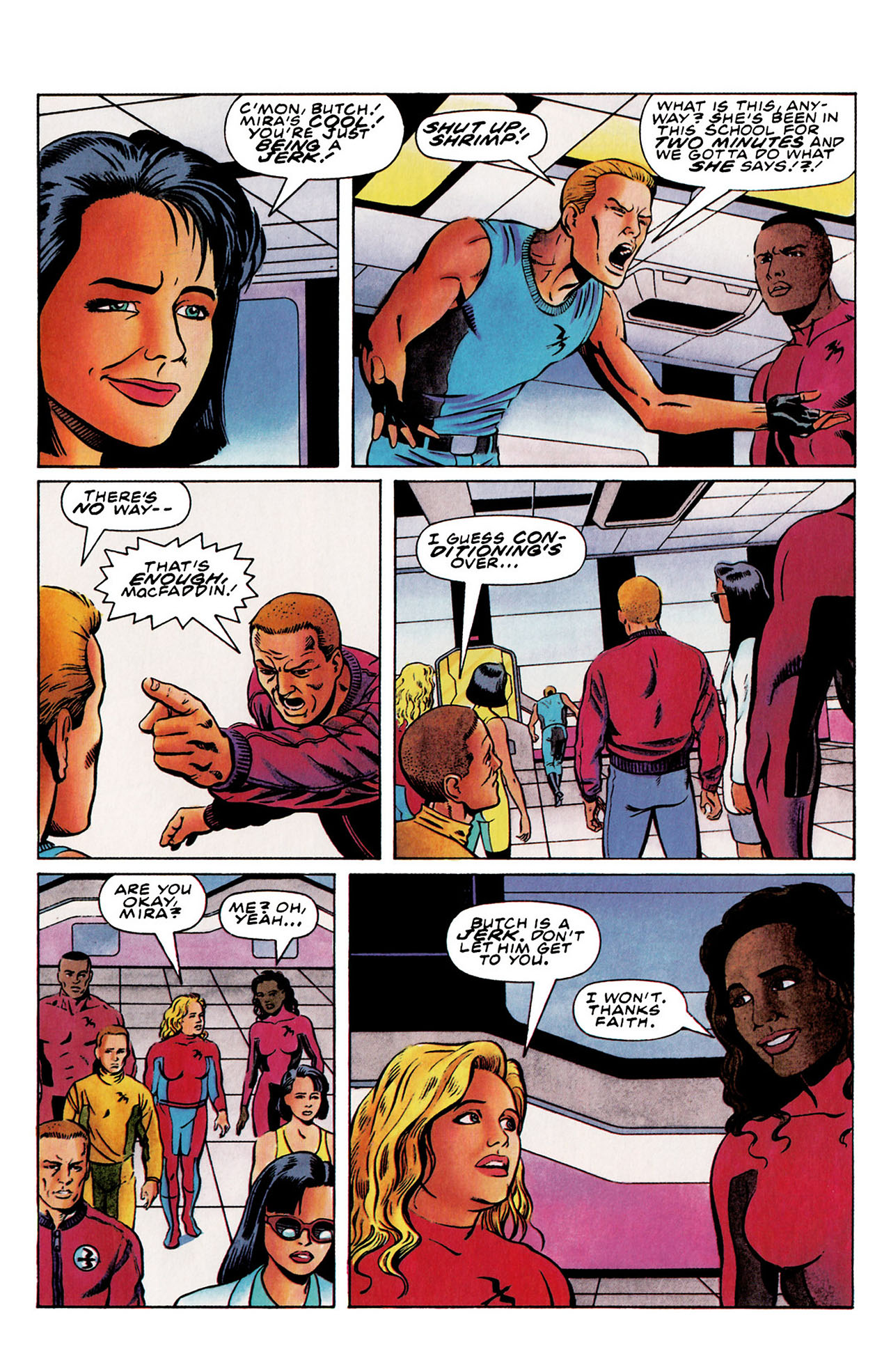 Read online Harbinger (1992) comic -  Issue #28 - 10