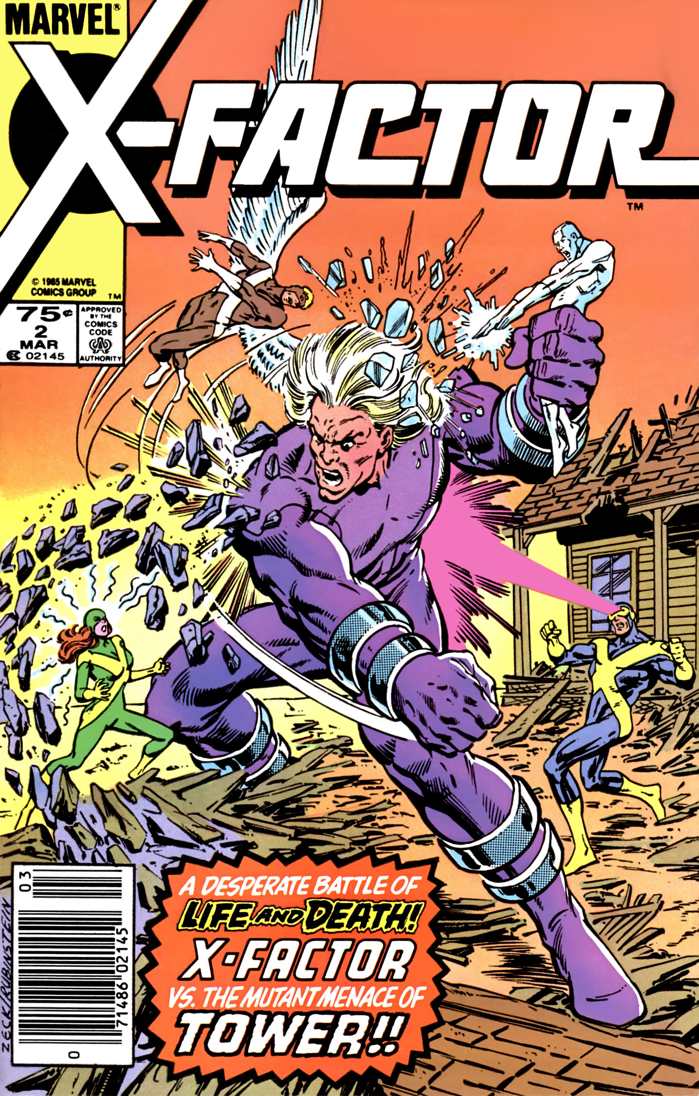 Read online X-Factor (1986) comic -  Issue #2 - 1