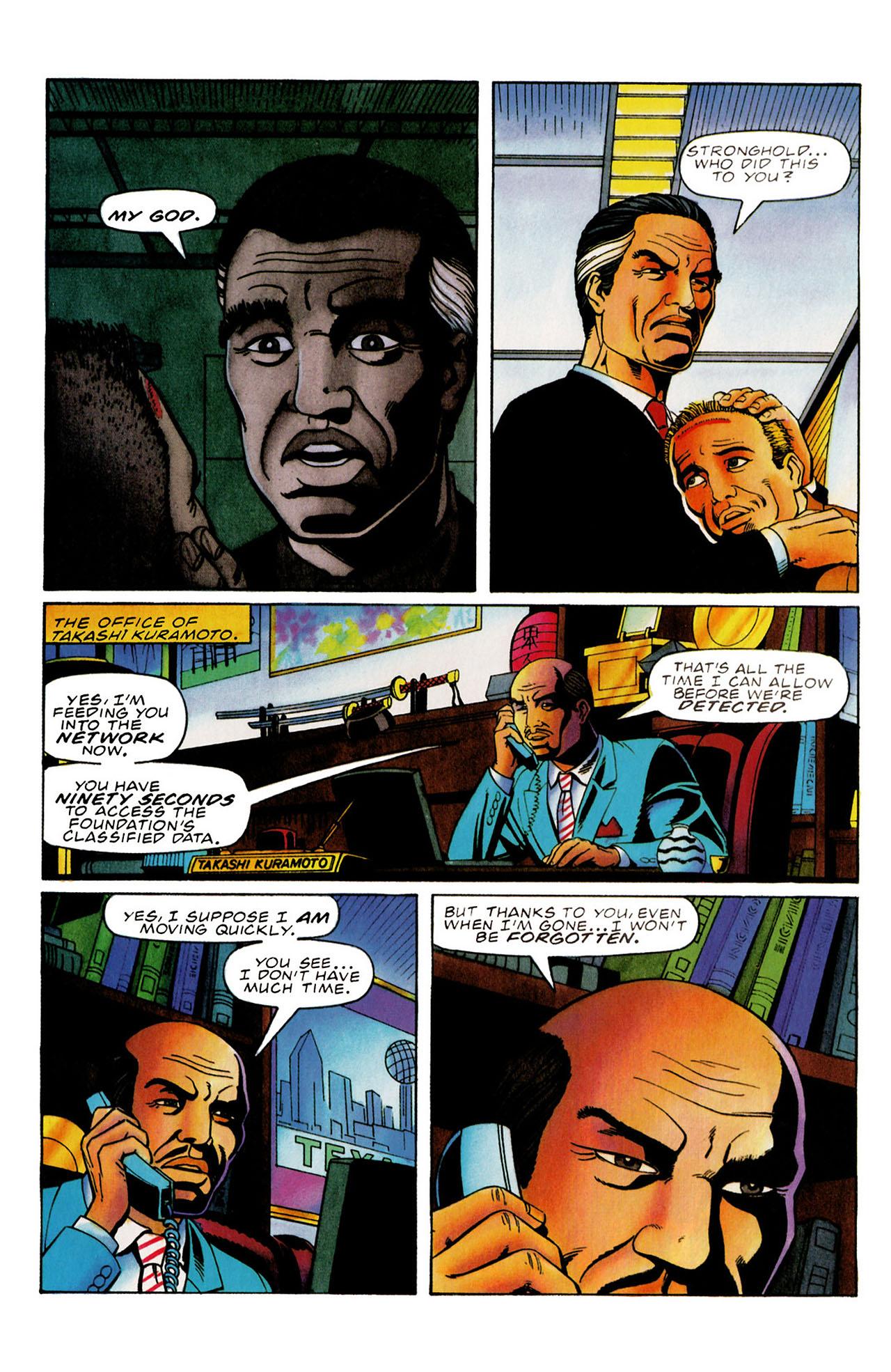 Read online Harbinger (1992) comic -  Issue #31 - 10