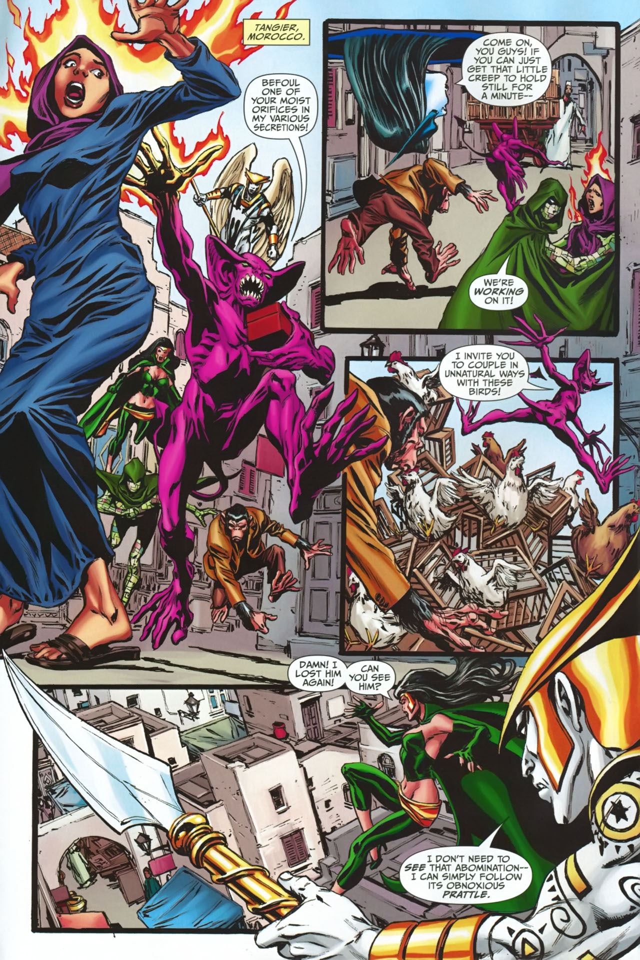 Read online Shadowpact comic -  Issue #23 - 3