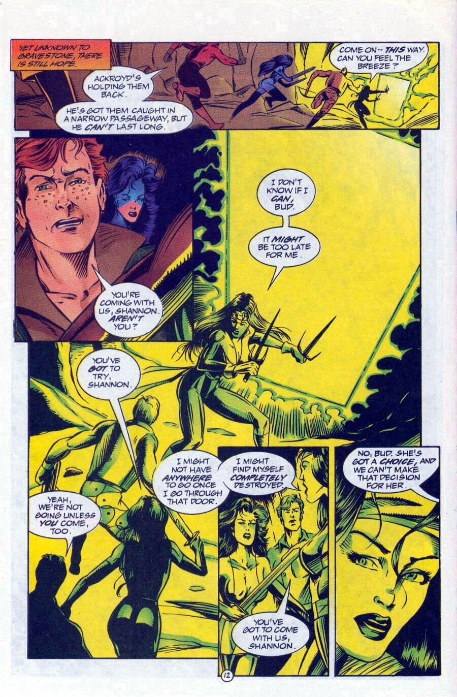 Read online Ex-Mutants comic -  Issue #17 - 13