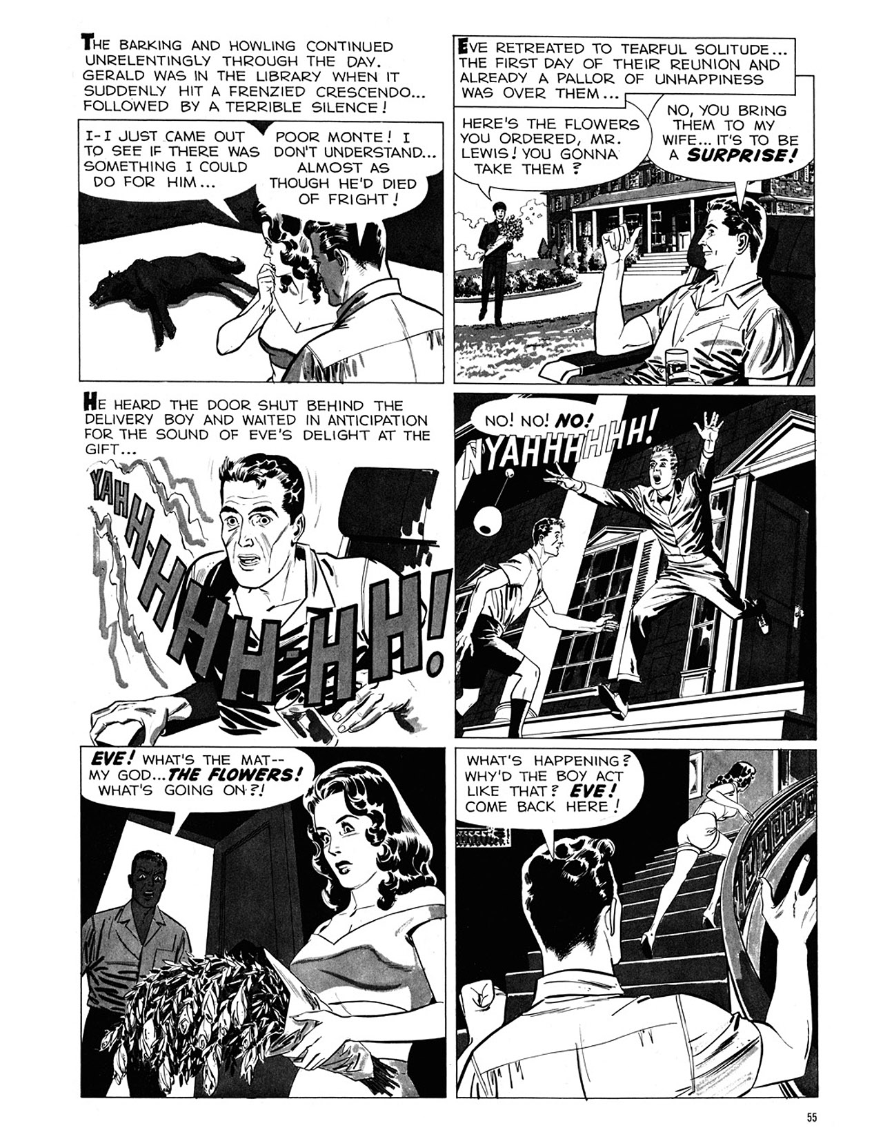 Read online Eerie Archives comic -  Issue # TPB 1 - 56