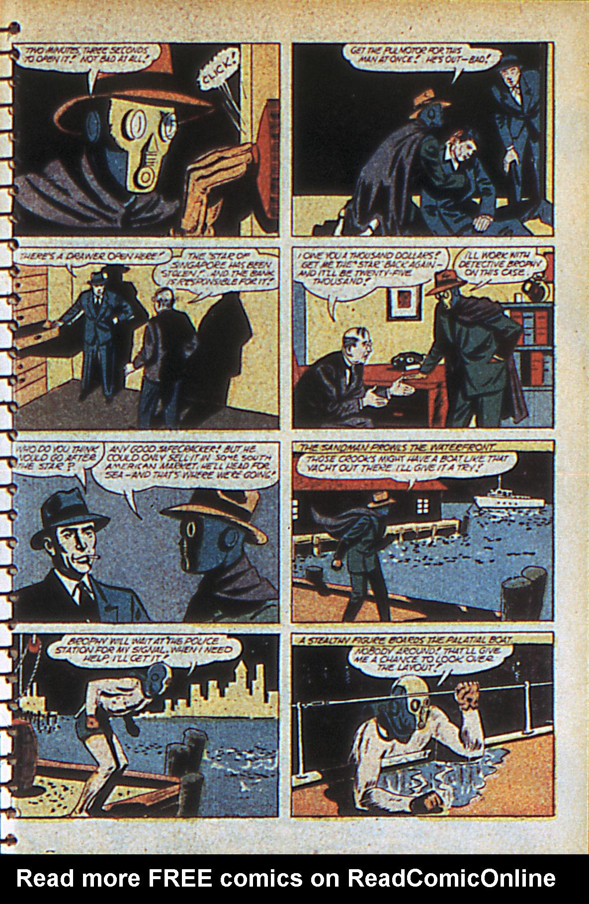 Read online Adventure Comics (1938) comic -  Issue #55 - 60
