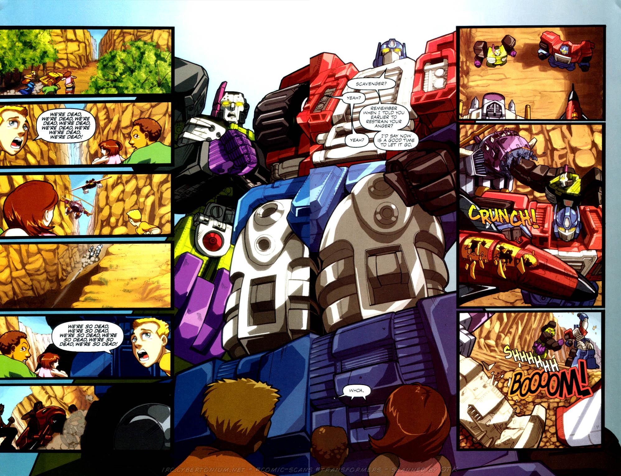 Read online Transformers Armada comic -  Issue #4 - 21