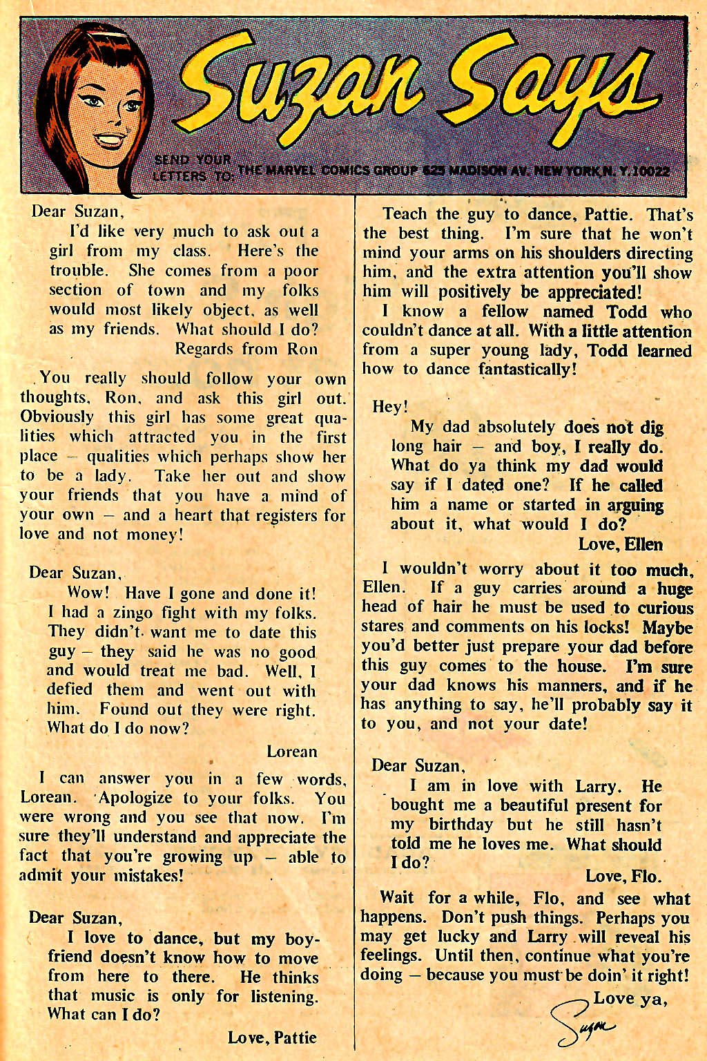 My Love (1969) issue 7 - Page 21