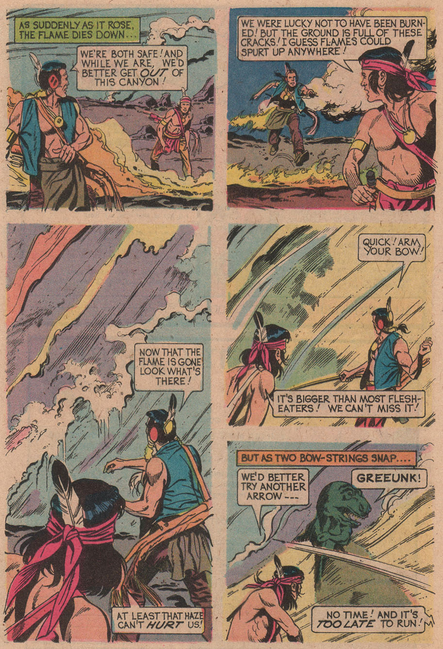 Read online Turok, Son of Stone comic -  Issue #91 - 24