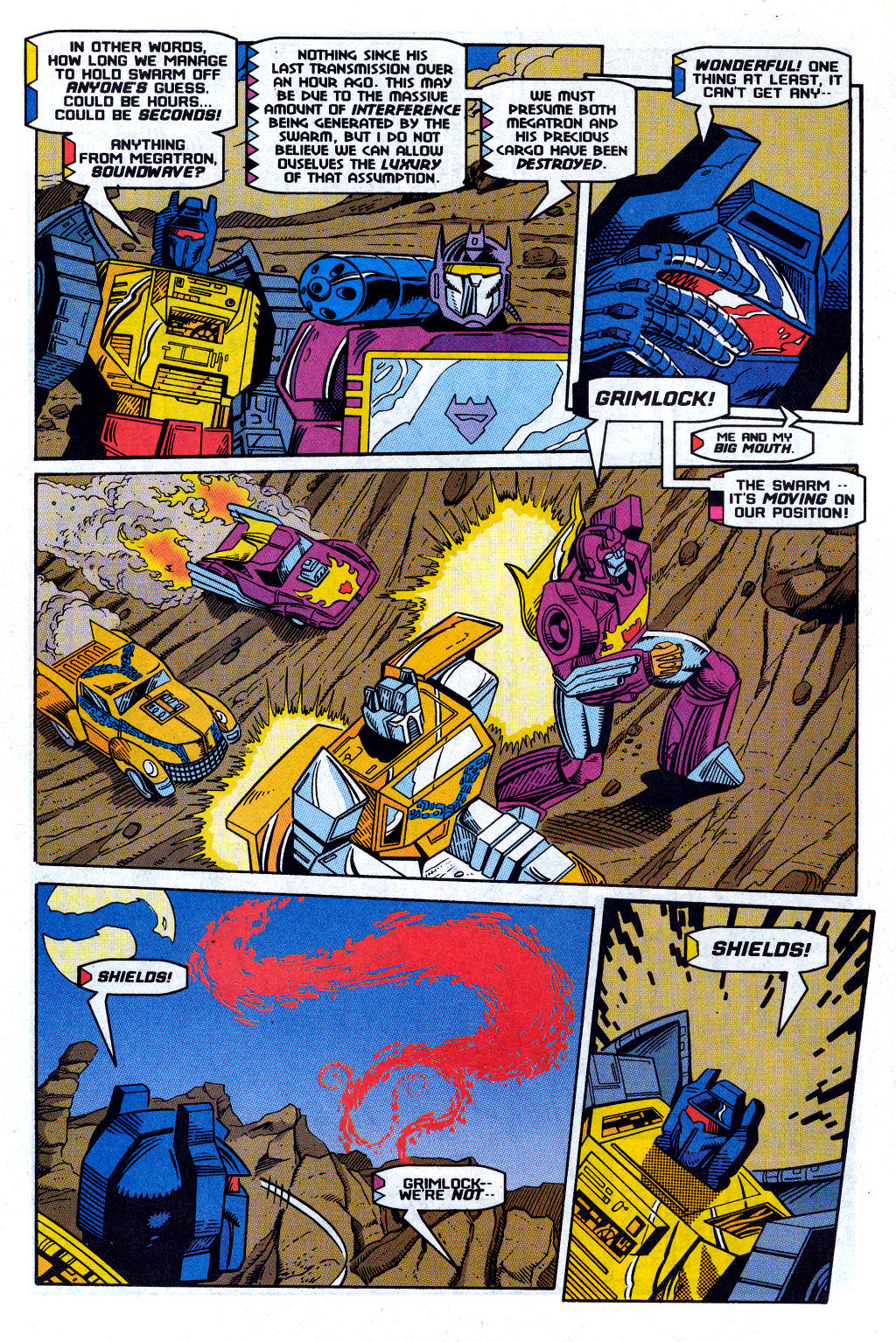 Read online Transformers: Generation 2 comic -  Issue #12 - 22