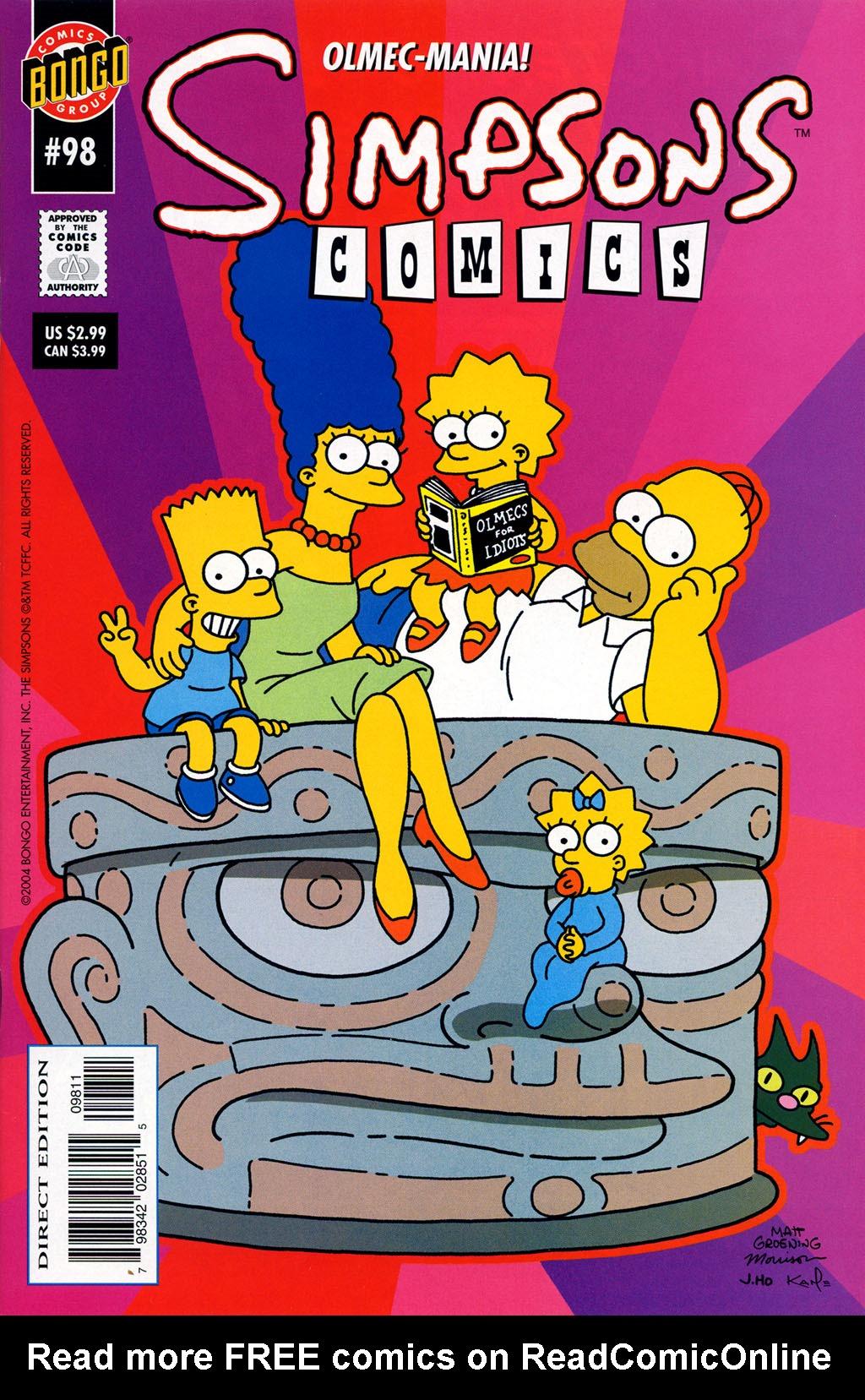 Read online Simpsons Comics comic -  Issue #98 - 1