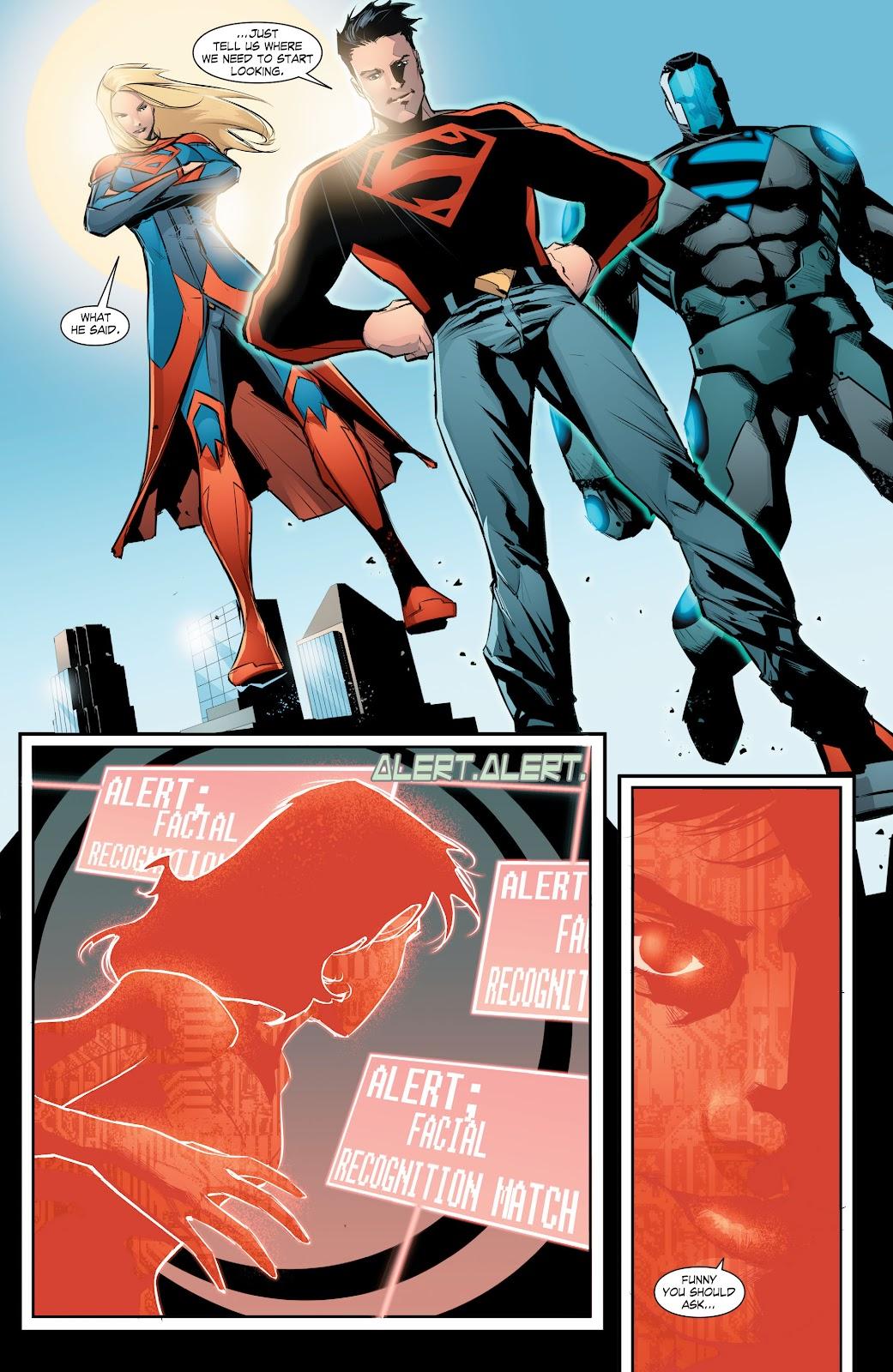 Read online Smallville Season 11 [II] comic -  Issue # TPB 8 - 134