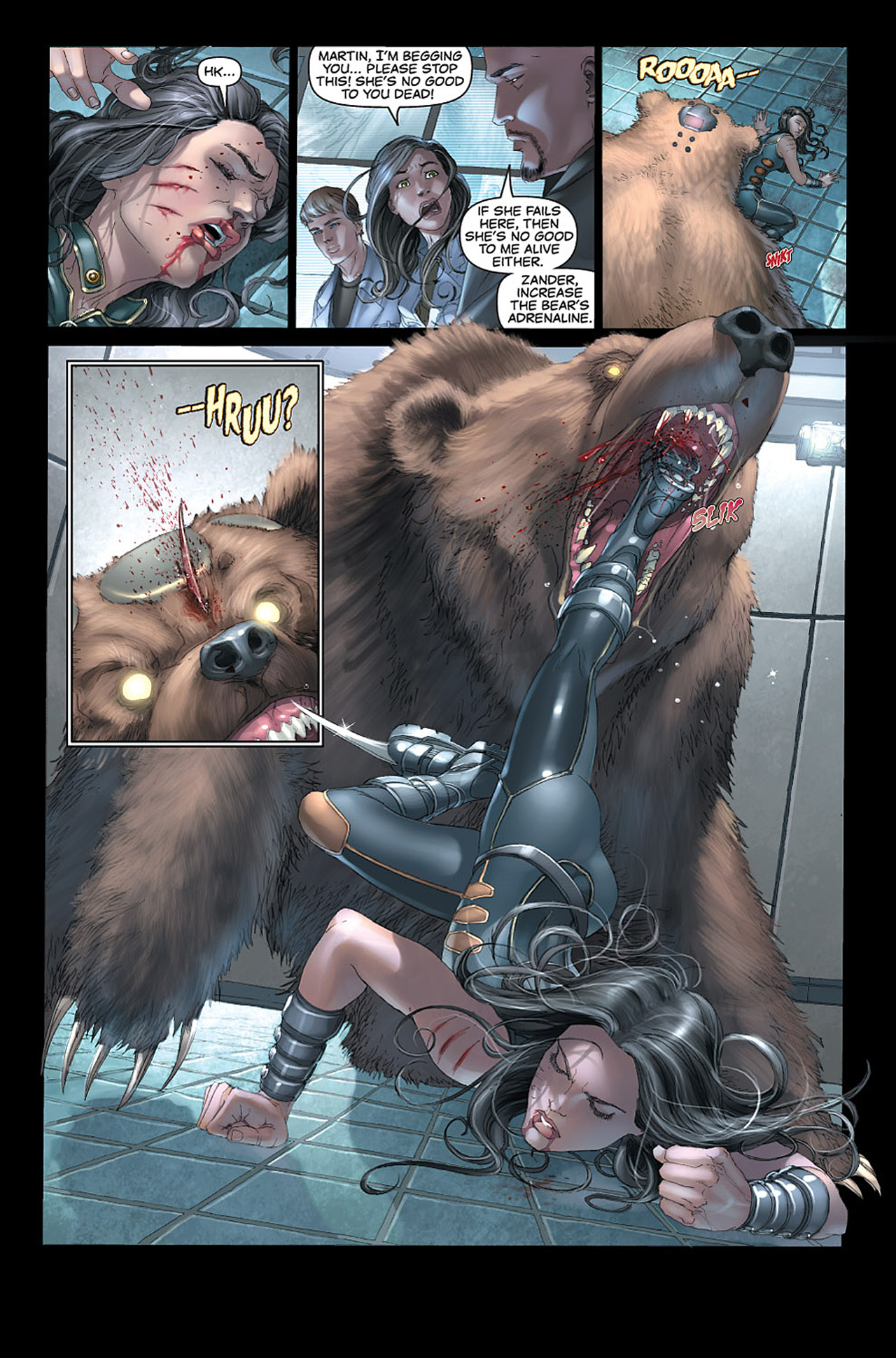 Read online X-23: Target X comic -  Issue #1 - 8