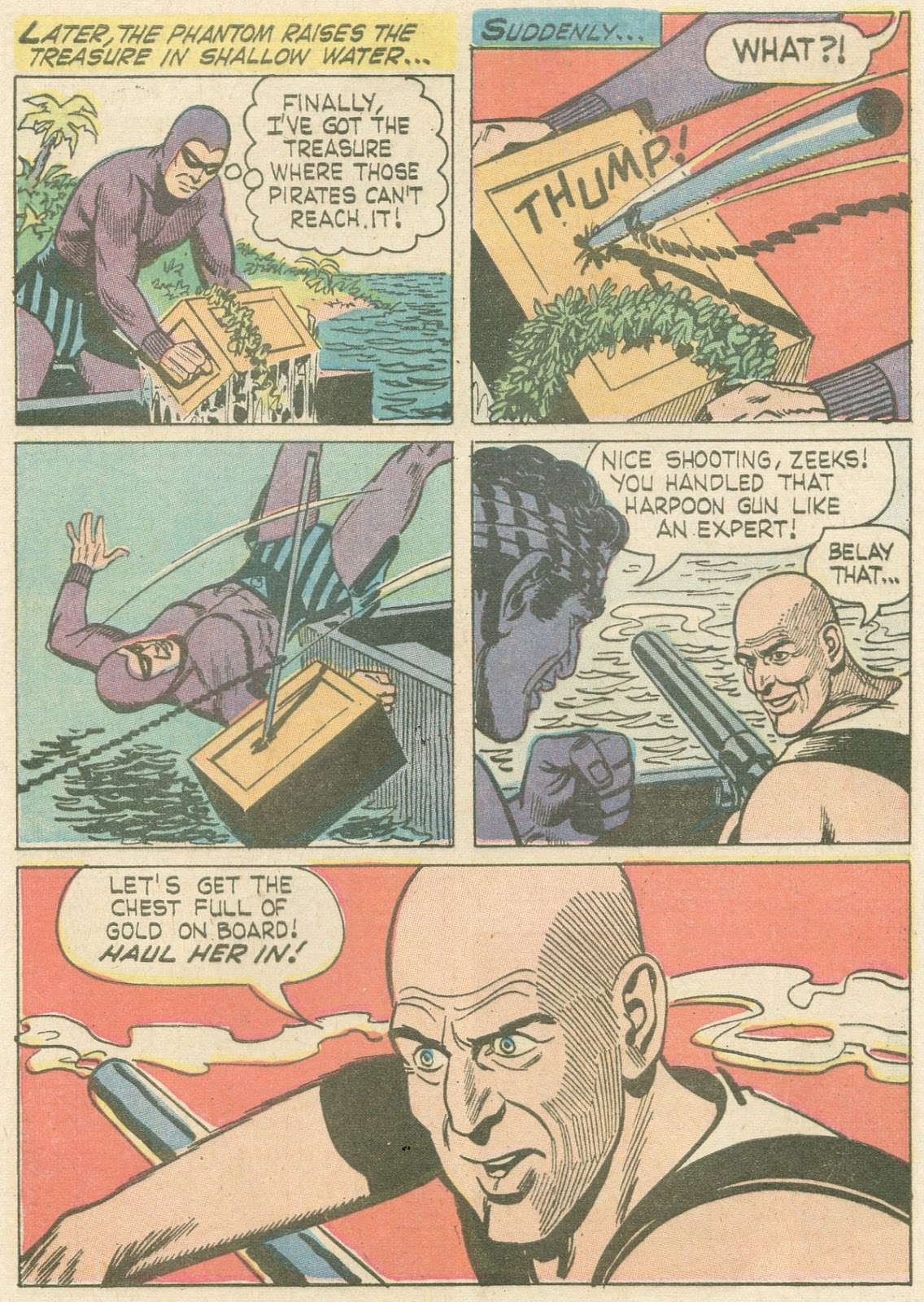 The Phantom (1966) issue 21 - Page 7