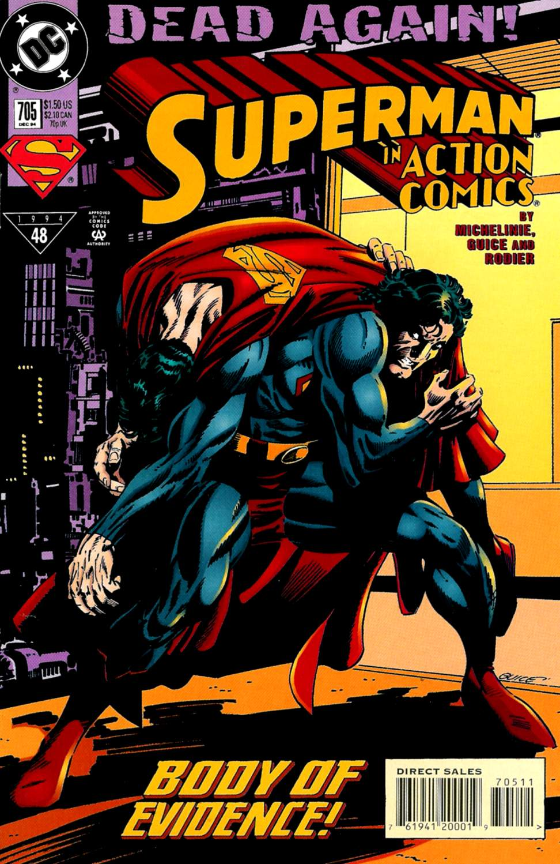 Action Comics (1938) 705 Page 1