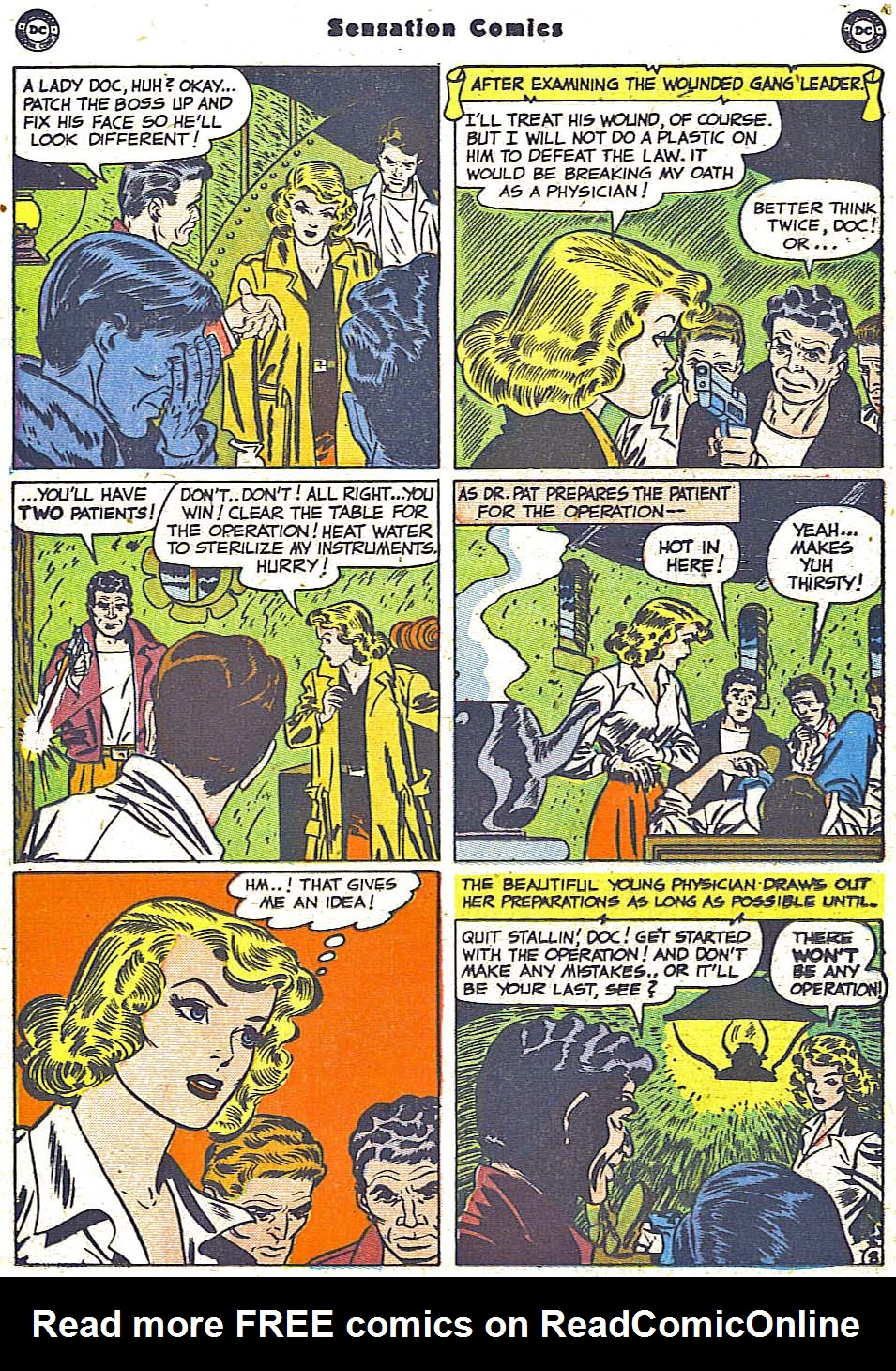 Read online Sensation (Mystery) Comics comic -  Issue #96 - 24