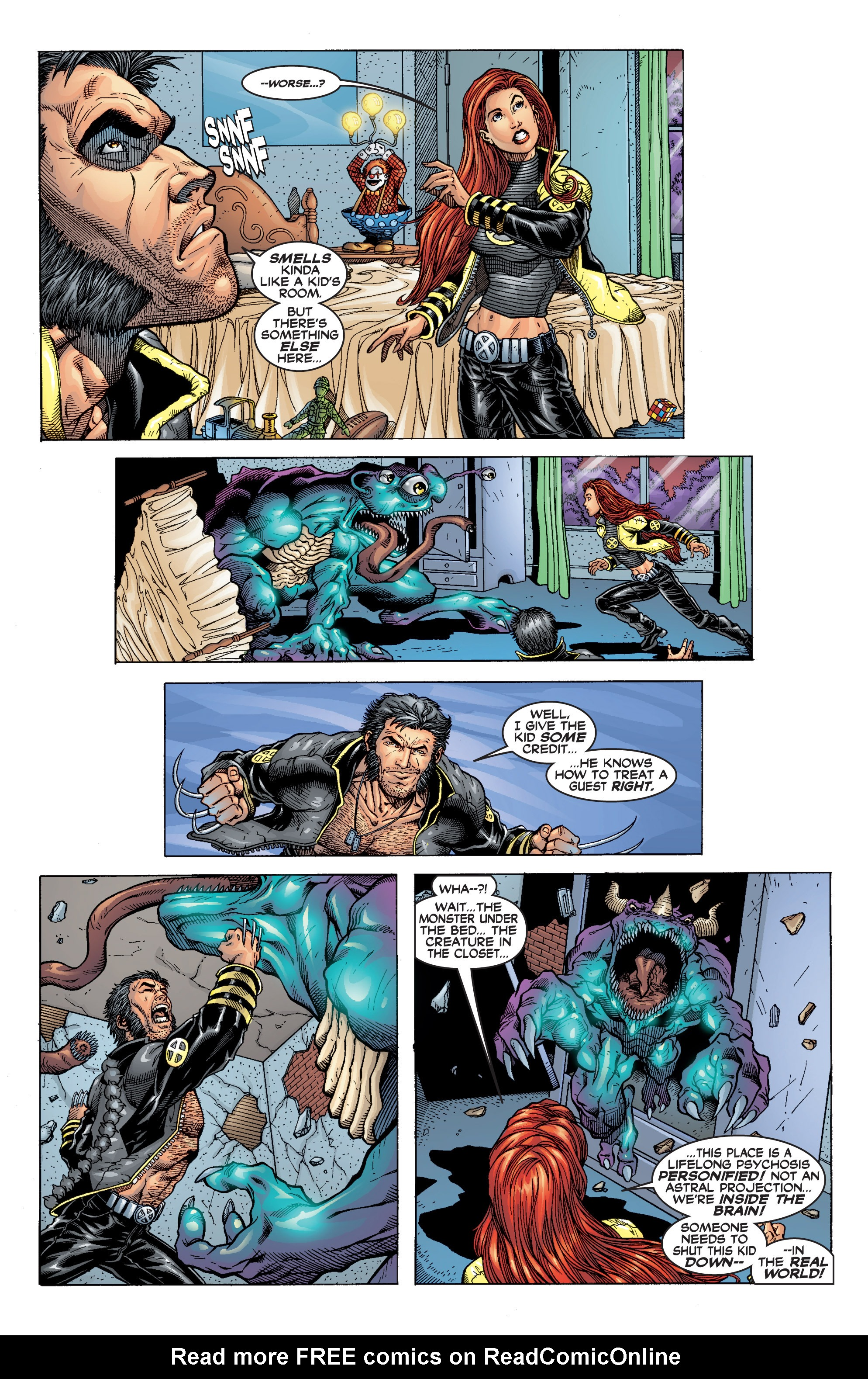 Read online Uncanny X-Men (1963) comic -  Issue #394 - 18