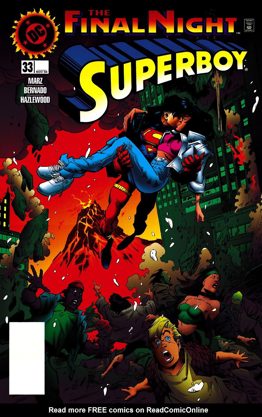 Superboy (1994) 33 Page 1