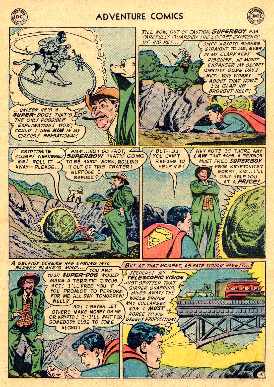 Read online Adventure Comics (1938) comic -  Issue #220 - 7