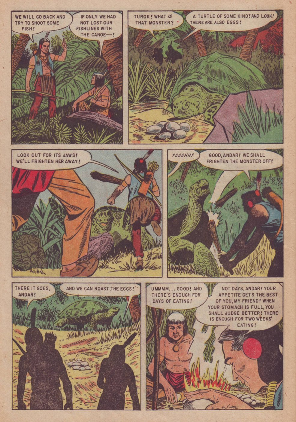Read online Turok, Son of Stone comic -  Issue #3 - 28
