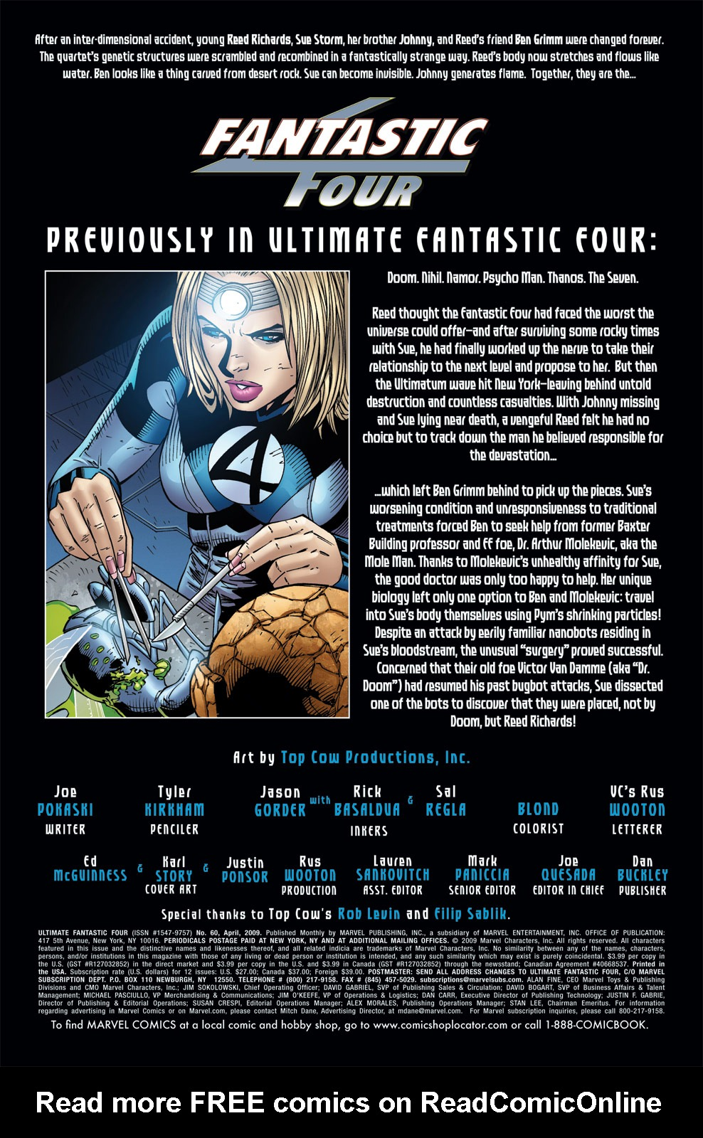 Read online Ultimate Fantastic Four (2004) comic -  Issue #60 - 2