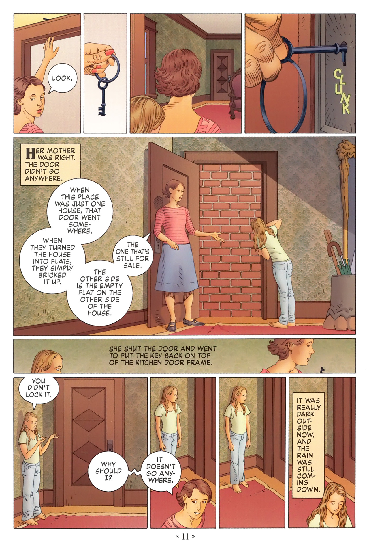Read online Coraline comic -  Issue #1 - 17