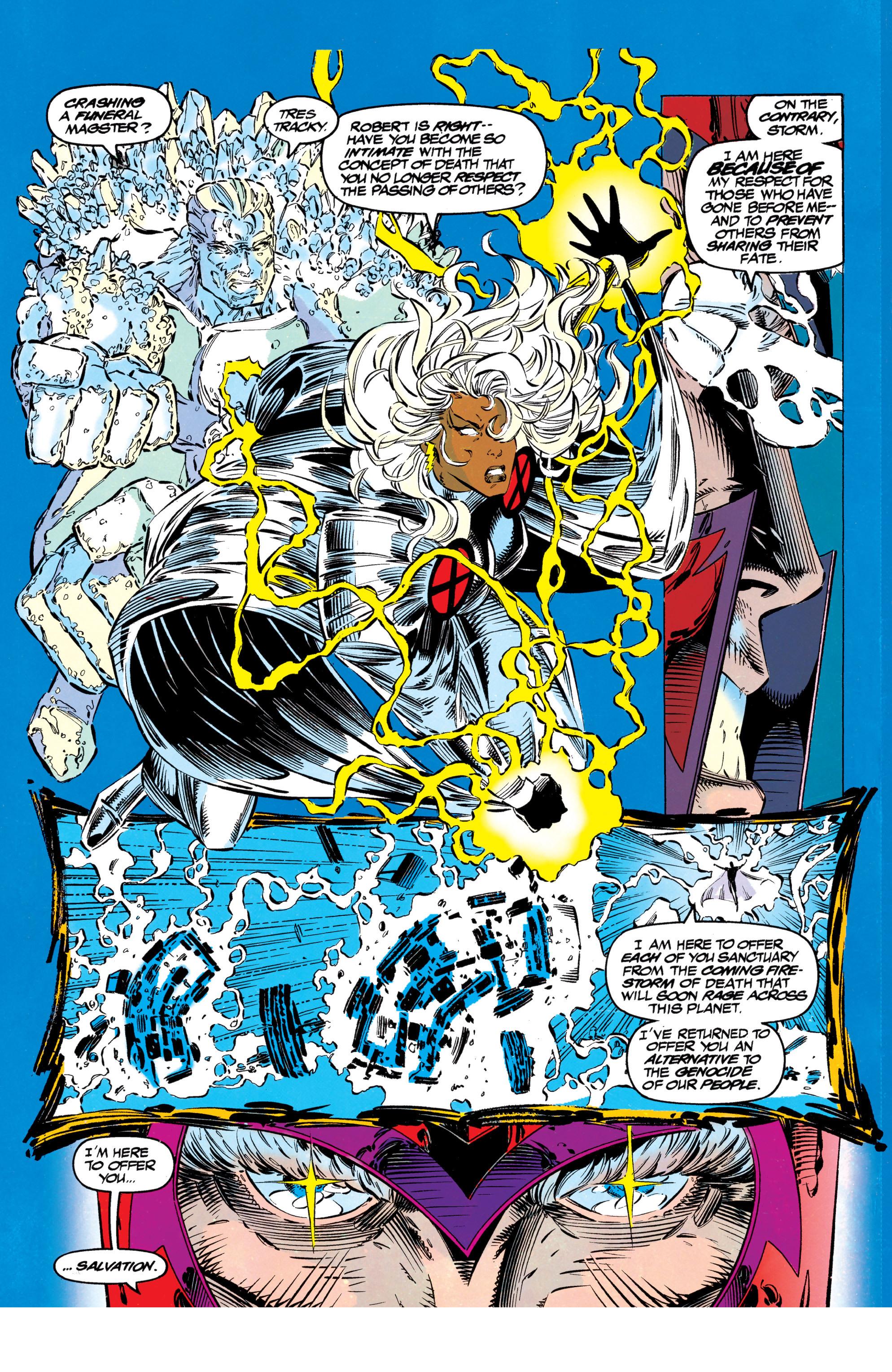 Read online Uncanny X-Men (1963) comic -  Issue #304 - 27