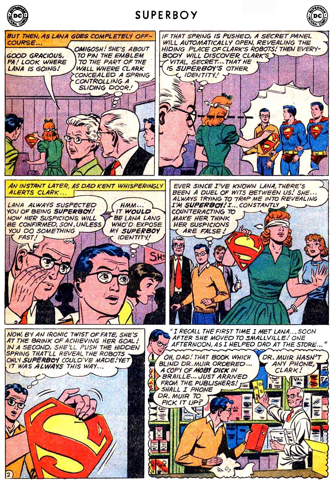Superboy (1949) issue 87 - Page 3