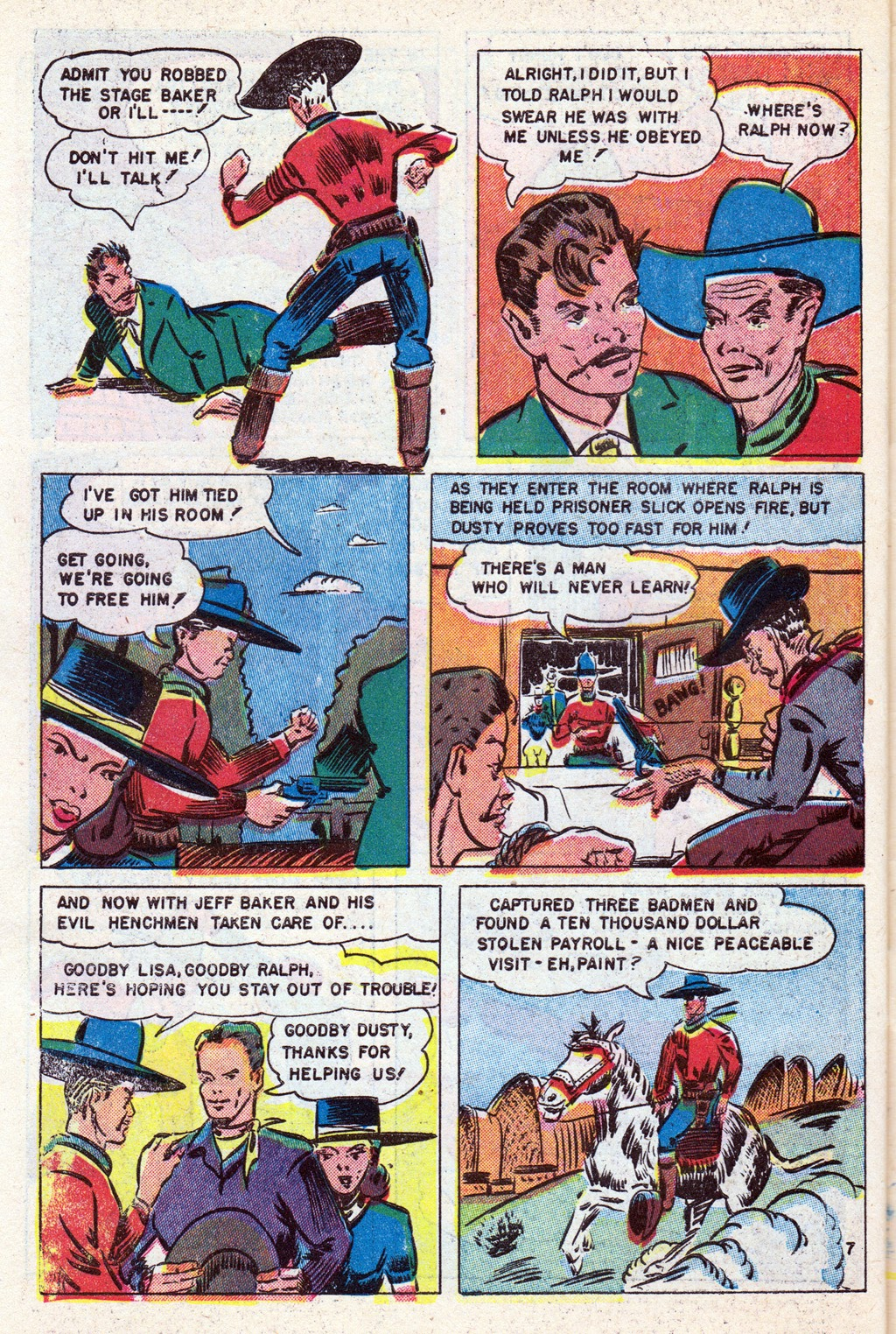 Cowboy Western Comics (1948) issue 18 - Page 30