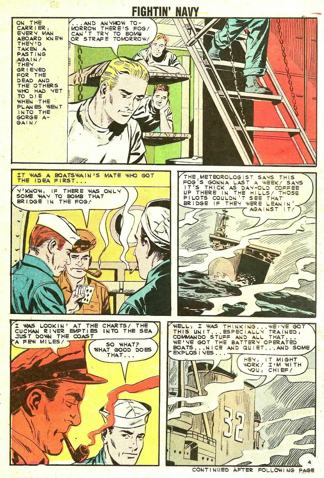 Read online Fightin' Navy comic -  Issue #110 - 30