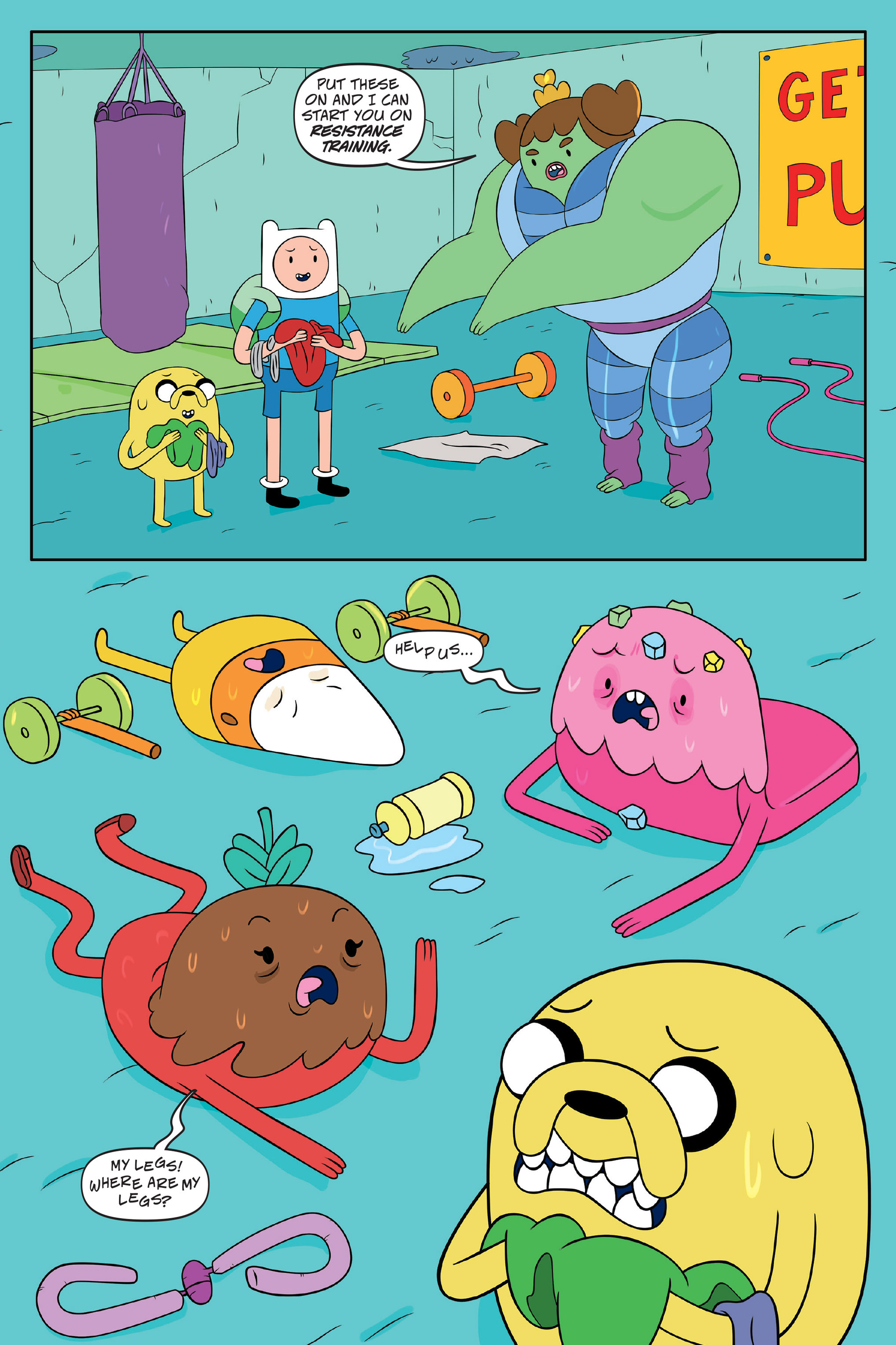 Read online Adventure Time: The Four Castles comic -  Issue #Adventure Time: The Four Castles TPB - 39