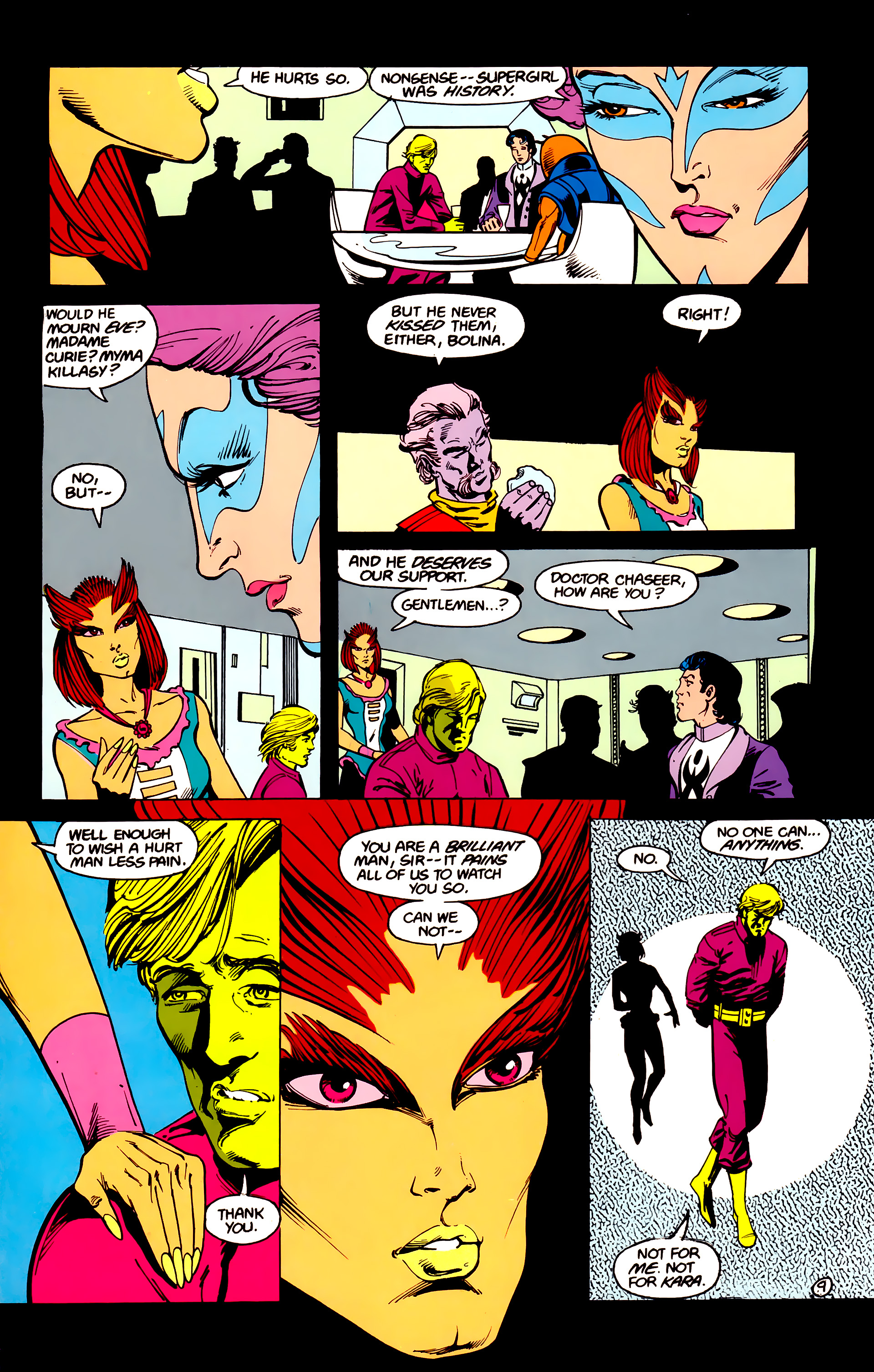 Legion of Super-Heroes (1984) 16 Page 10