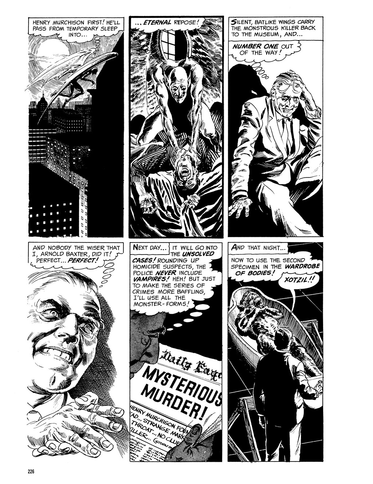 Read online Eerie Archives comic -  Issue # TPB 3 - 227
