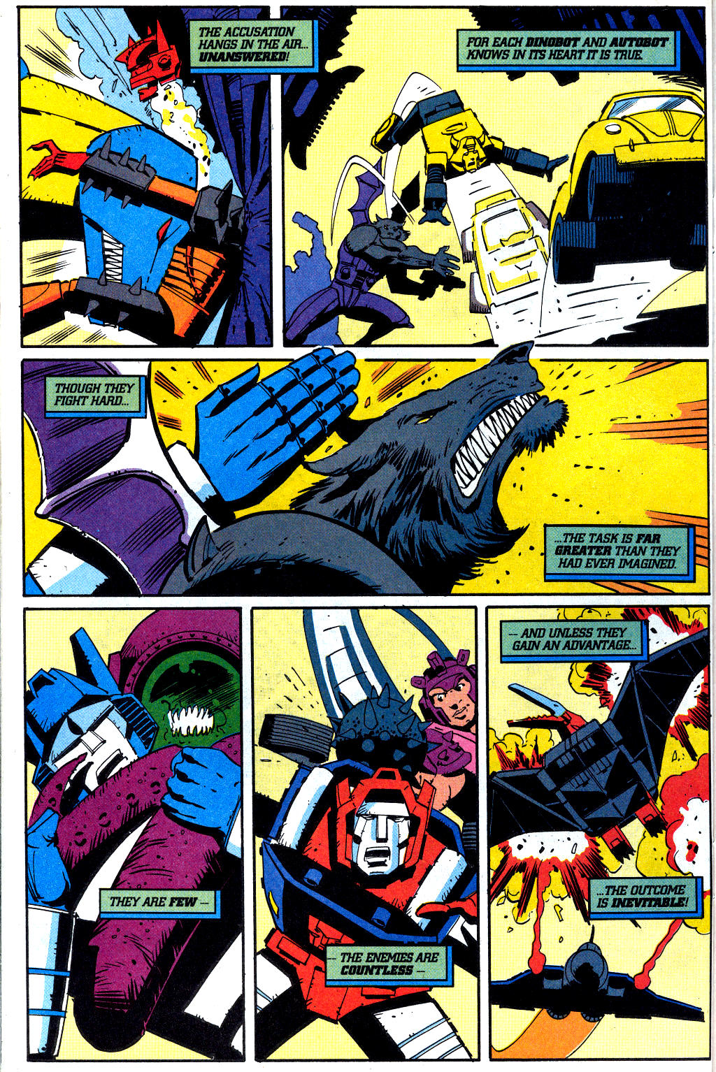 Read online Transformers: Generation 2 comic -  Issue #2 - 20