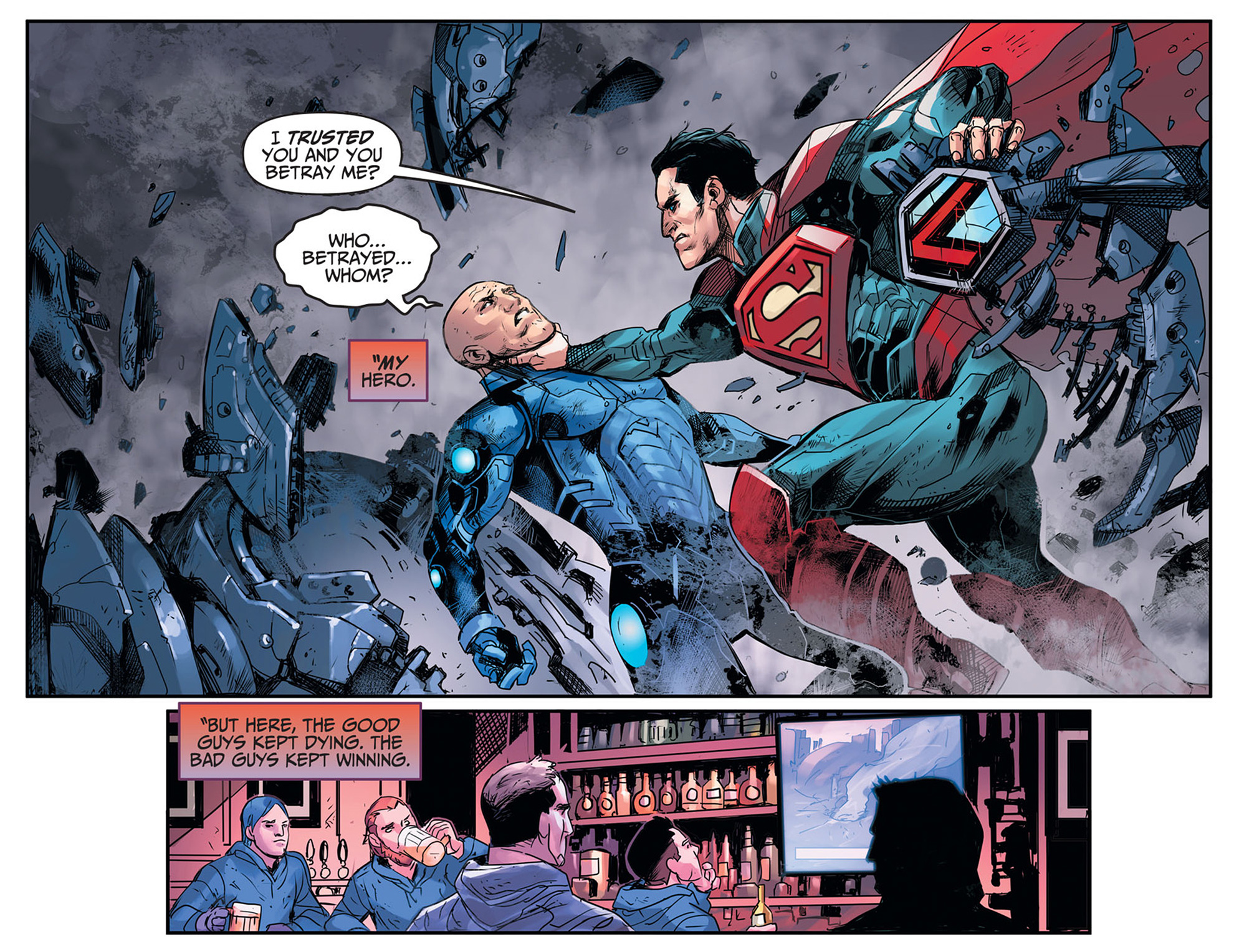 Read online Injustice: Ground Zero comic -  Issue #19 - 22