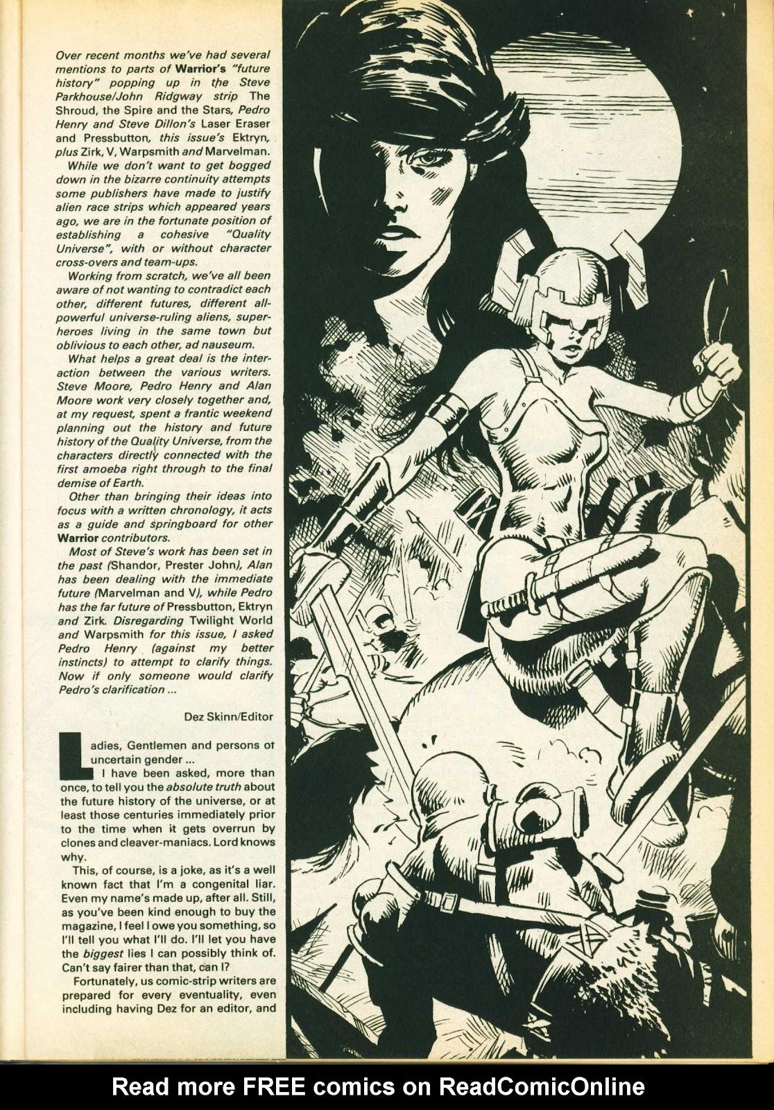 Warrior Issue #14 #15 - English 13