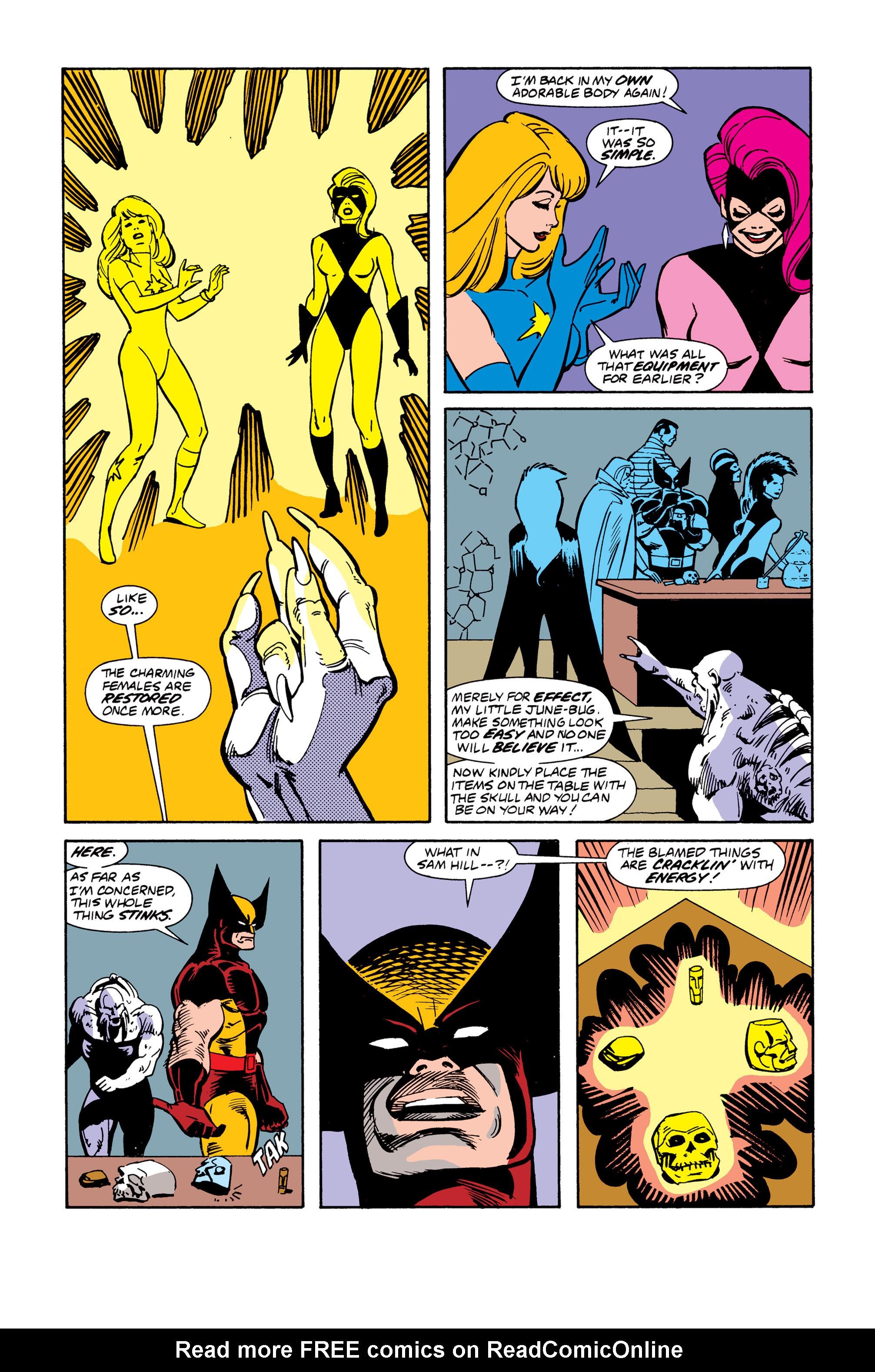 Read online Uncanny X-Men (1963) comic -  Issue # _Annual 13 - 32