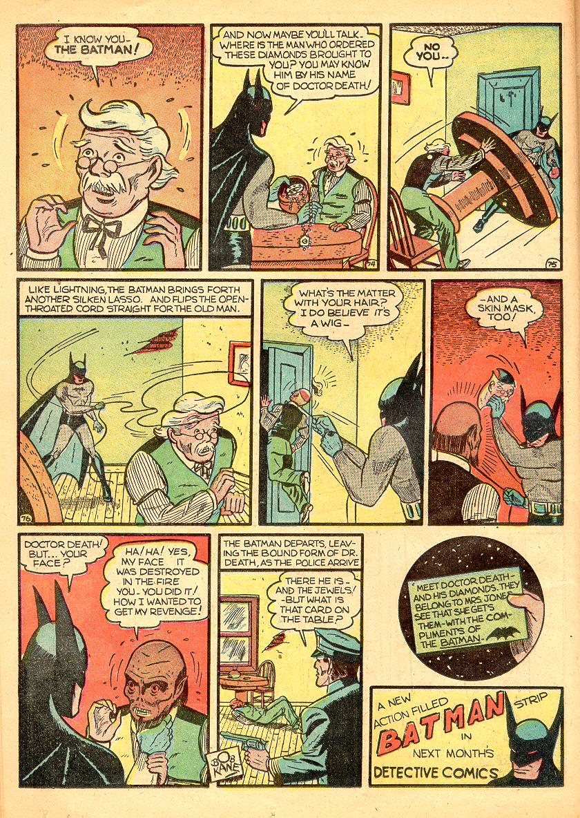 Read online Detective Comics (1937) comic -  Issue #30 - 12