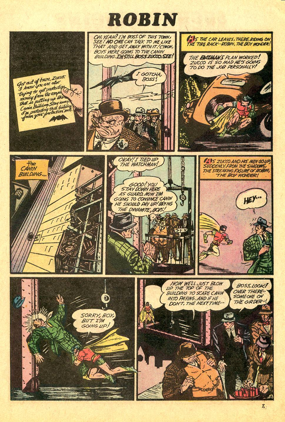 Read online Secret Origins (1973) comic -  Issue #7 - 11