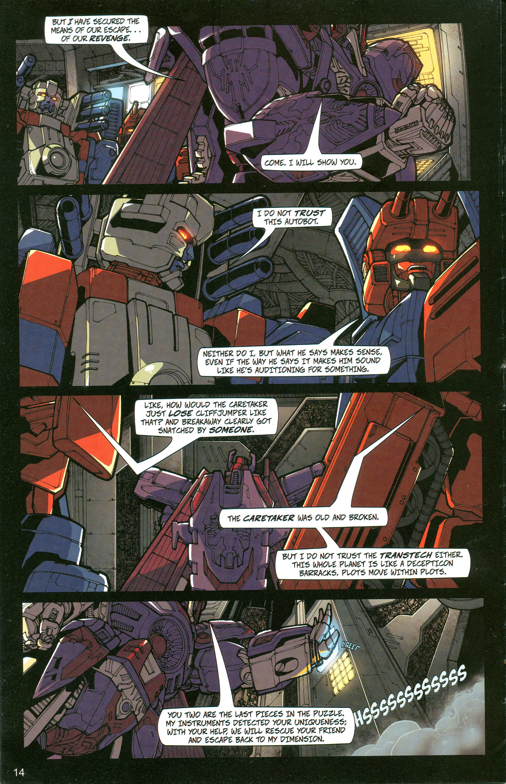 Read online Transformers: Collectors' Club comic -  Issue #20 - 14