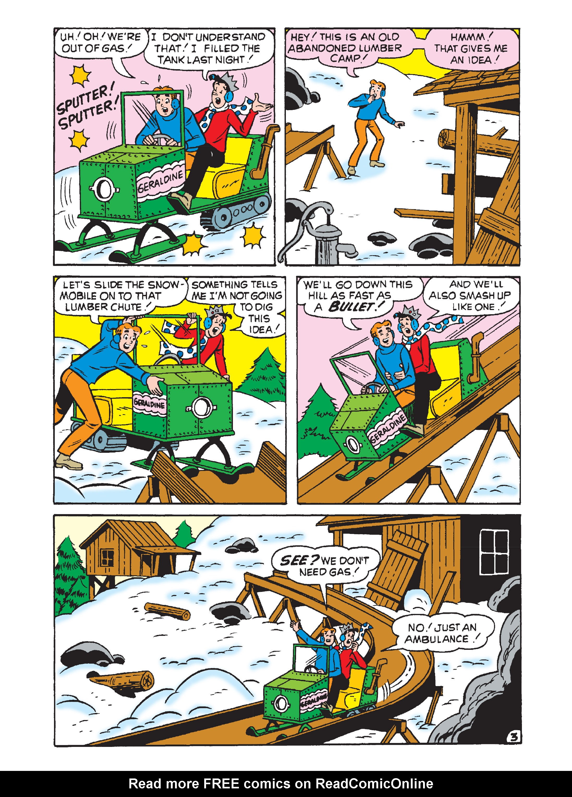 Read online Archie's Funhouse Double Digest comic -  Issue #2 - 120