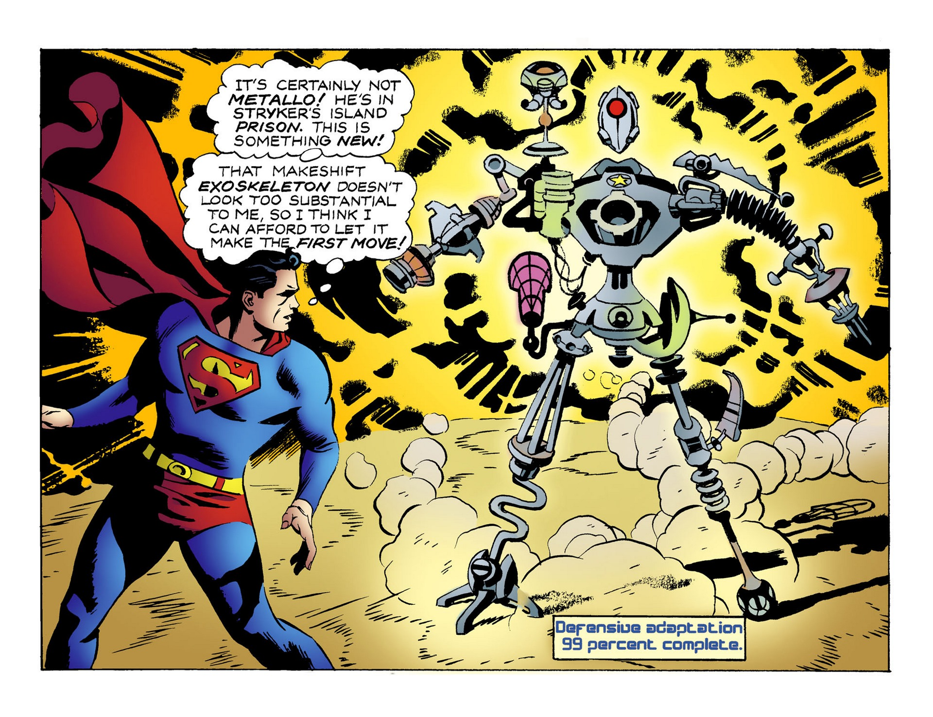 Read online Adventures of Superman [I] comic -  Issue #51 - 8