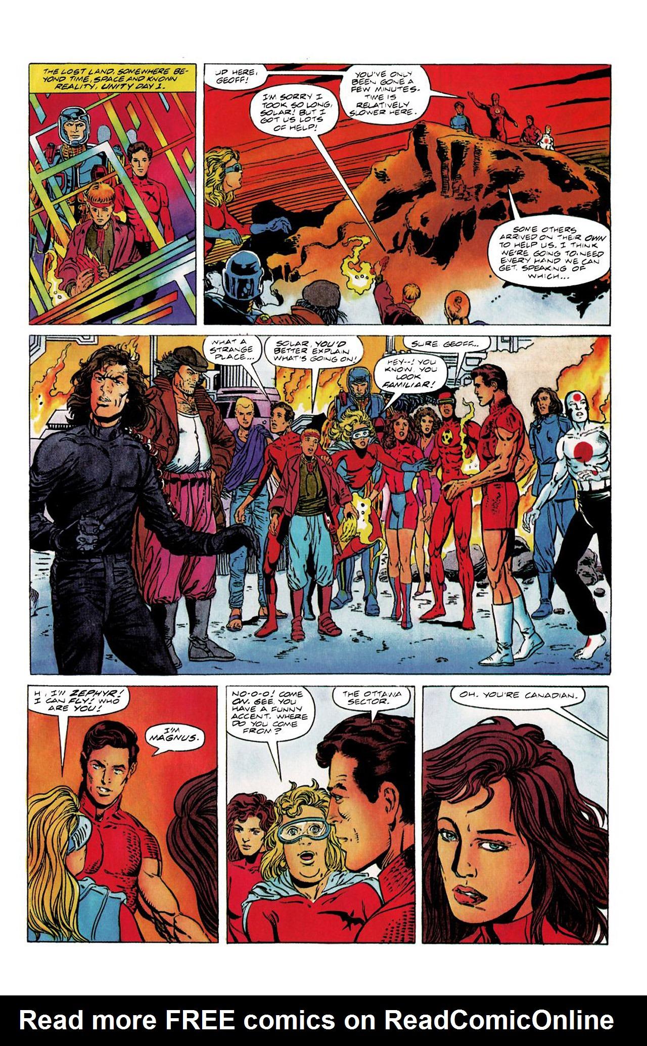 Read online Harbinger (1992) comic -  Issue #8 - 6