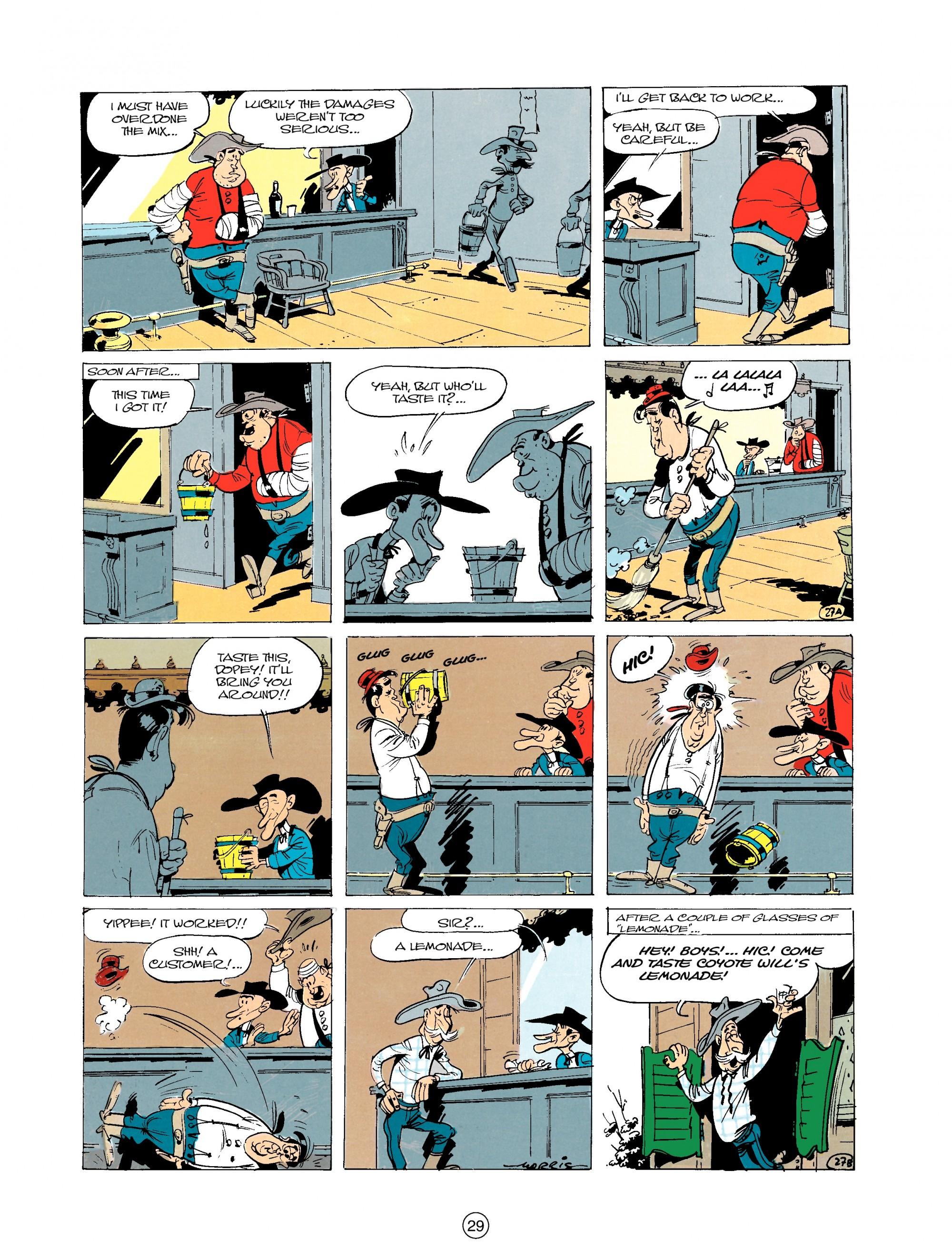 Read online A Lucky Luke Adventure comic -  Issue #20 - 29