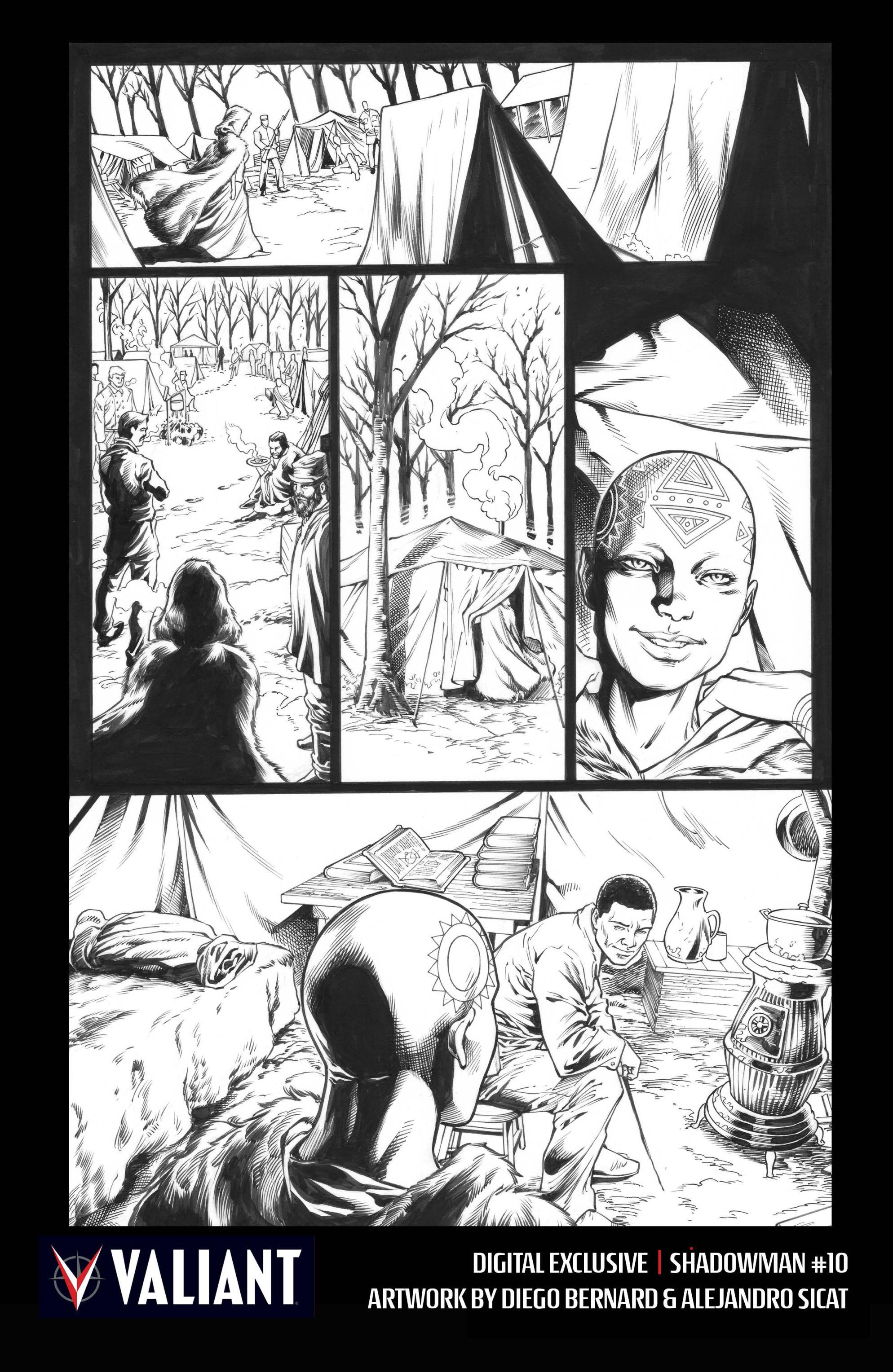 Read online Shadowman (2012) comic -  Issue #10 - 32